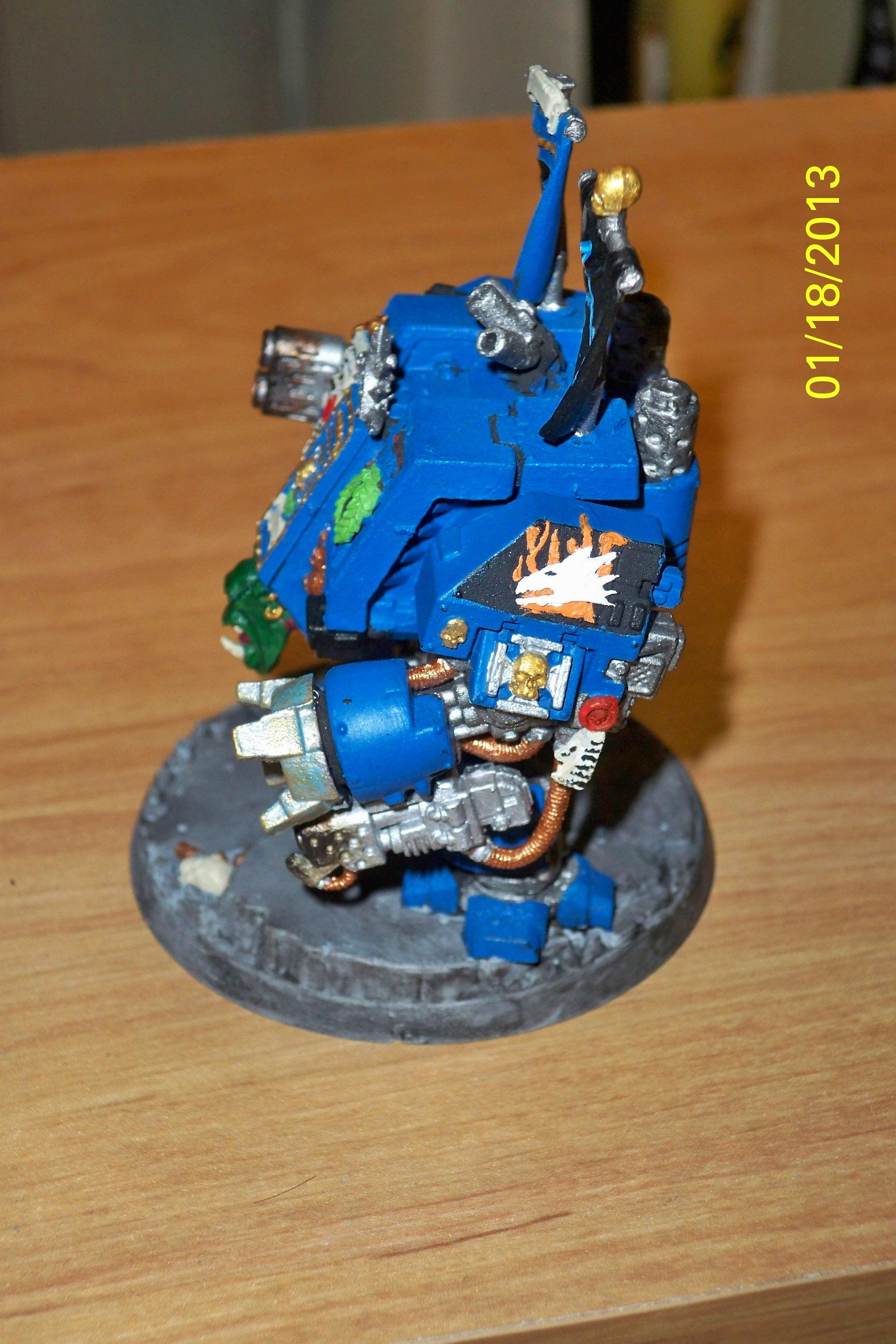 Dreadnought, Space Marines, Storm Dragons