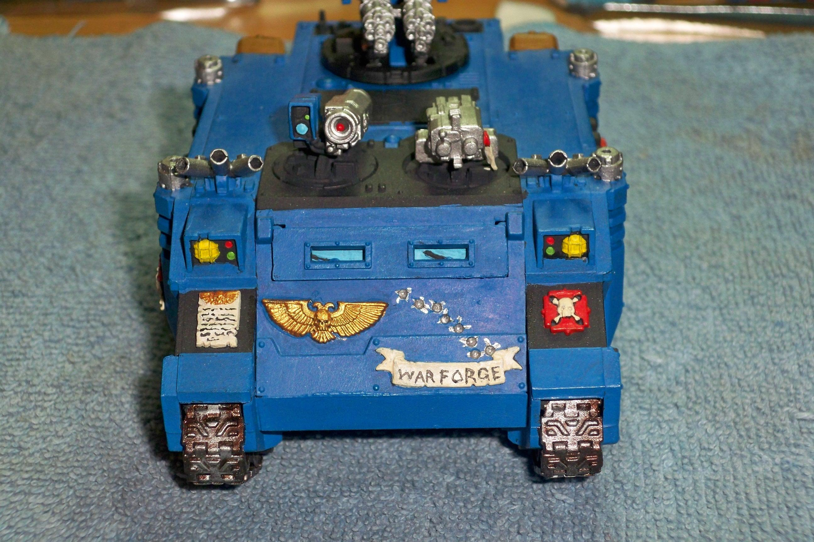 Razorback, Space Marines, Storm Dragons