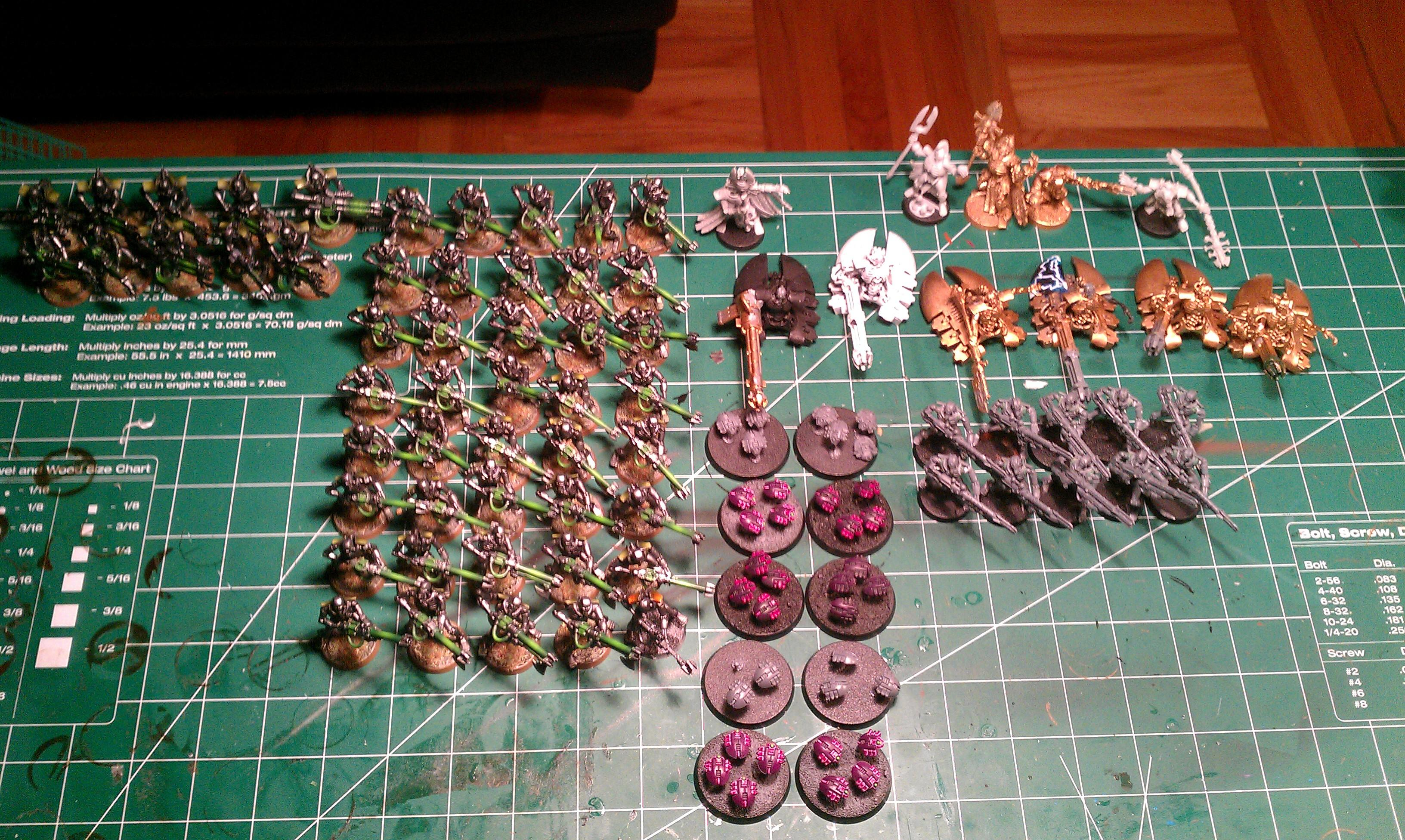 Warhammer 40,000, Full Army Shot
