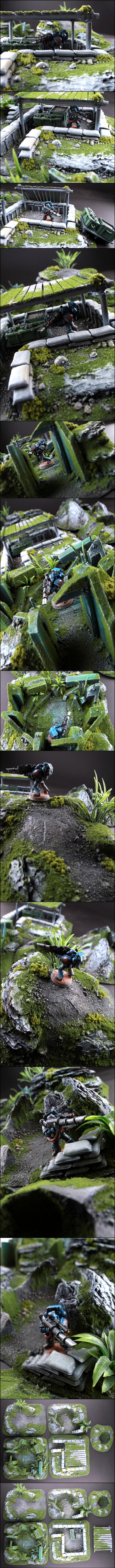Bunker, Jungle, Ruin, Terrain