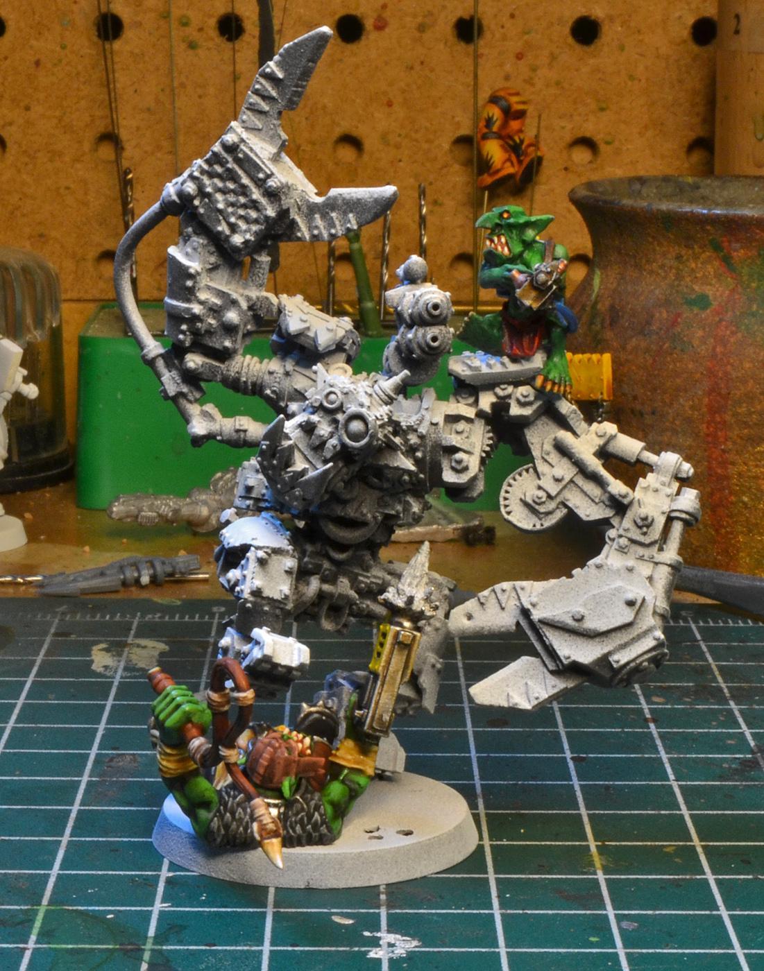 Forge World, Orks, Runt Bot, Warhammer 40,000, Work In Progress