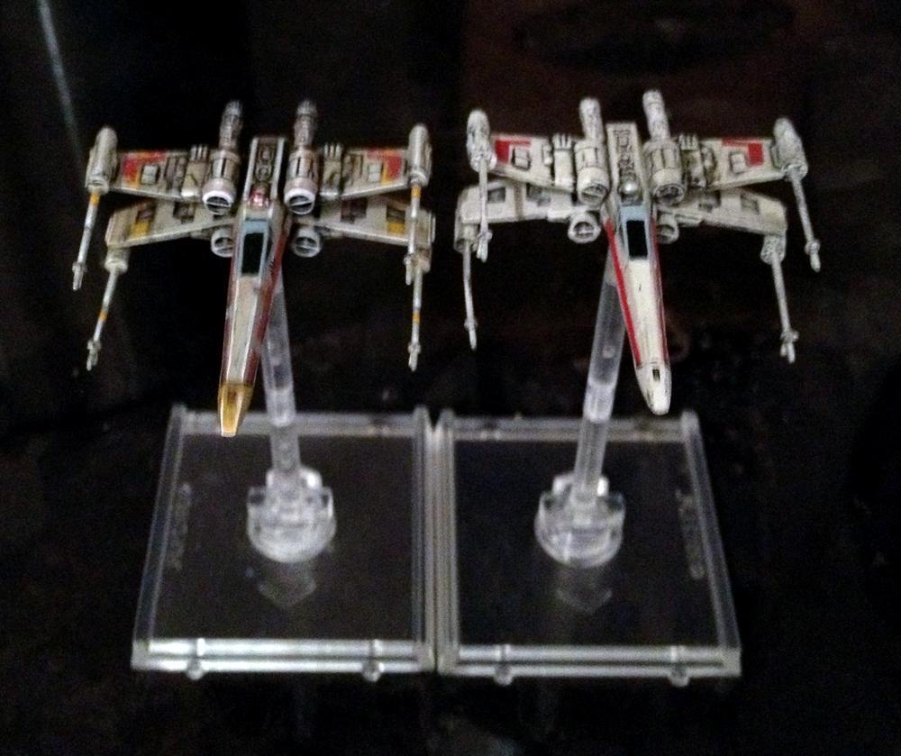 Comparisson, Custom, Fantasy Flight, Miniatures Game, X-Wing