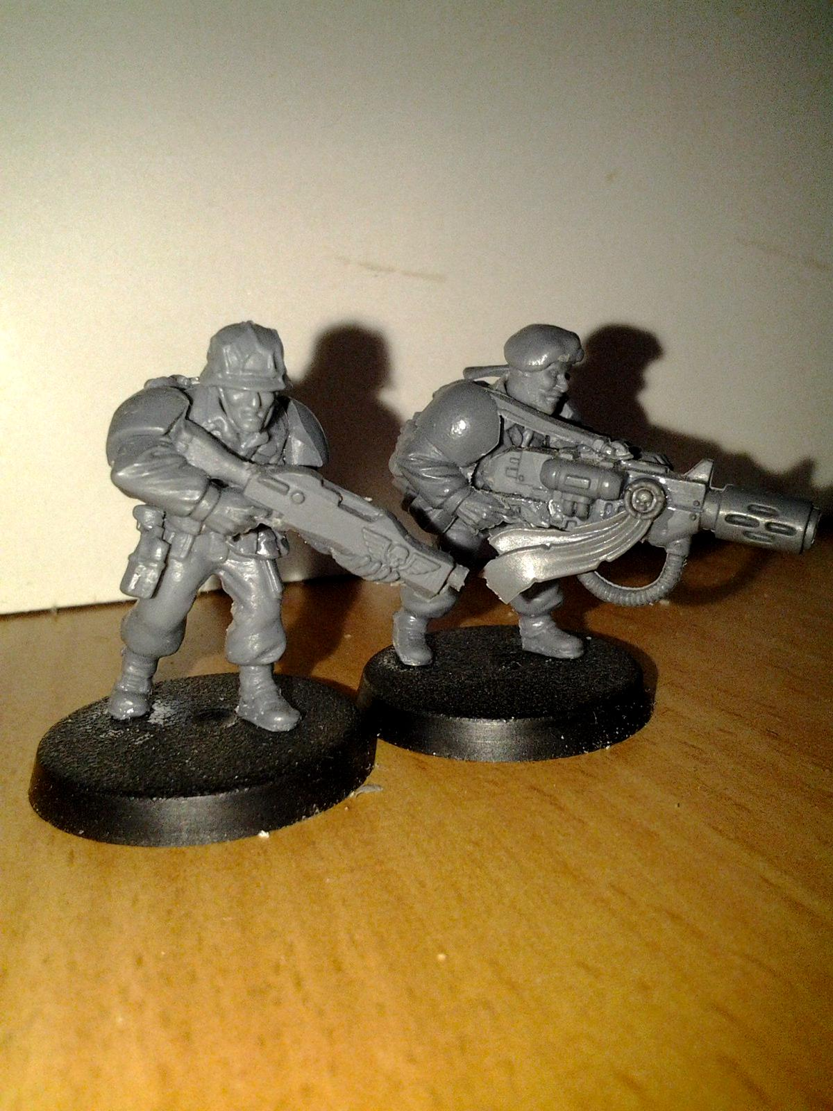 Conversion, Imperial Guard, Meltagun, Shotgun