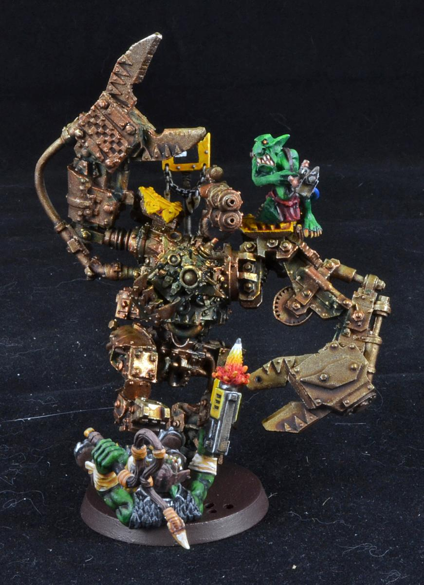 Forge World, Orks, Runt Bot, Warhammer 40,000, Work In Progress