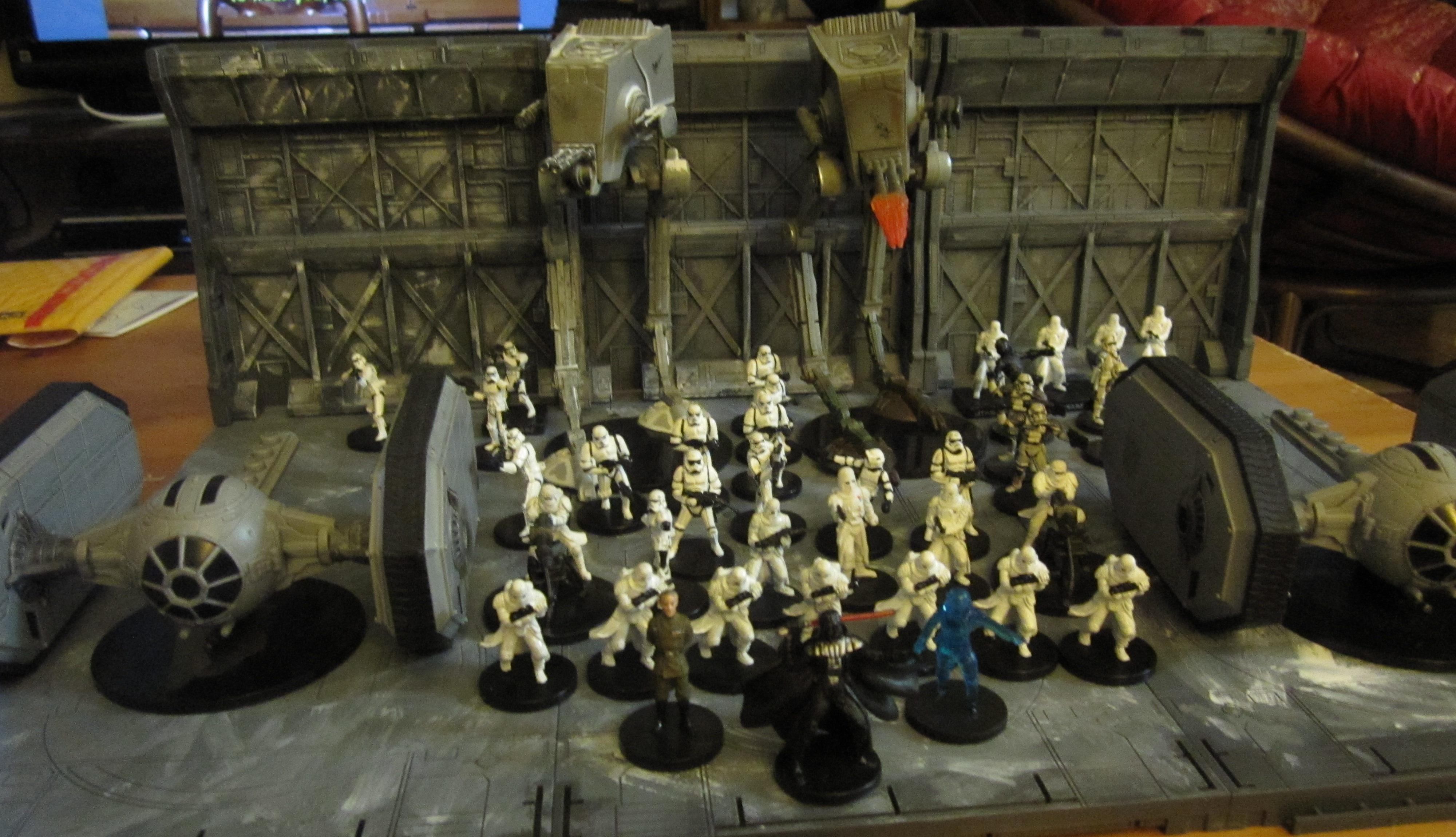 At-st, Imperial, Star Wars, Storm Troopers, Tie Crawler
