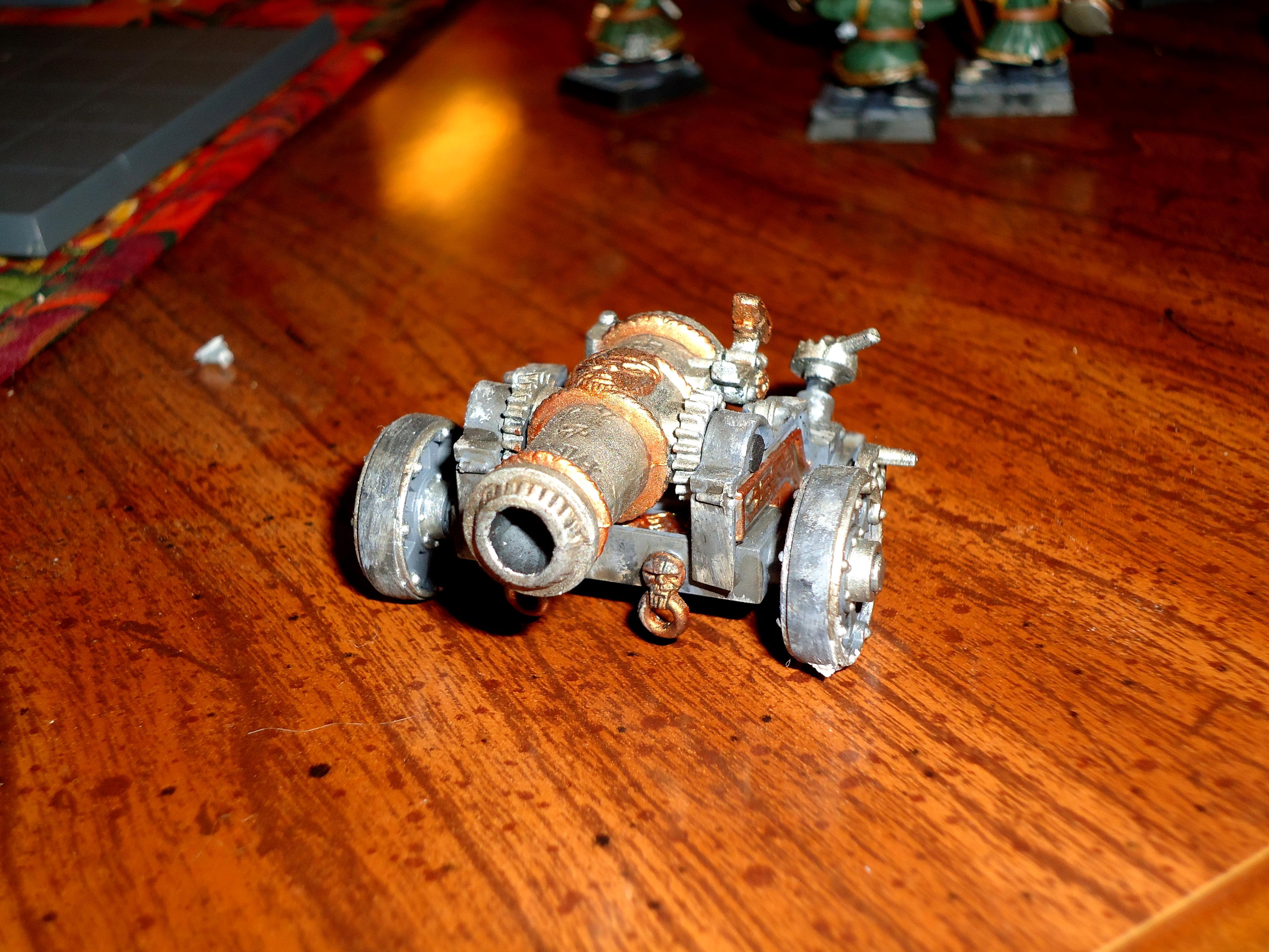 Dwarves, Dwarf Cannon Crew