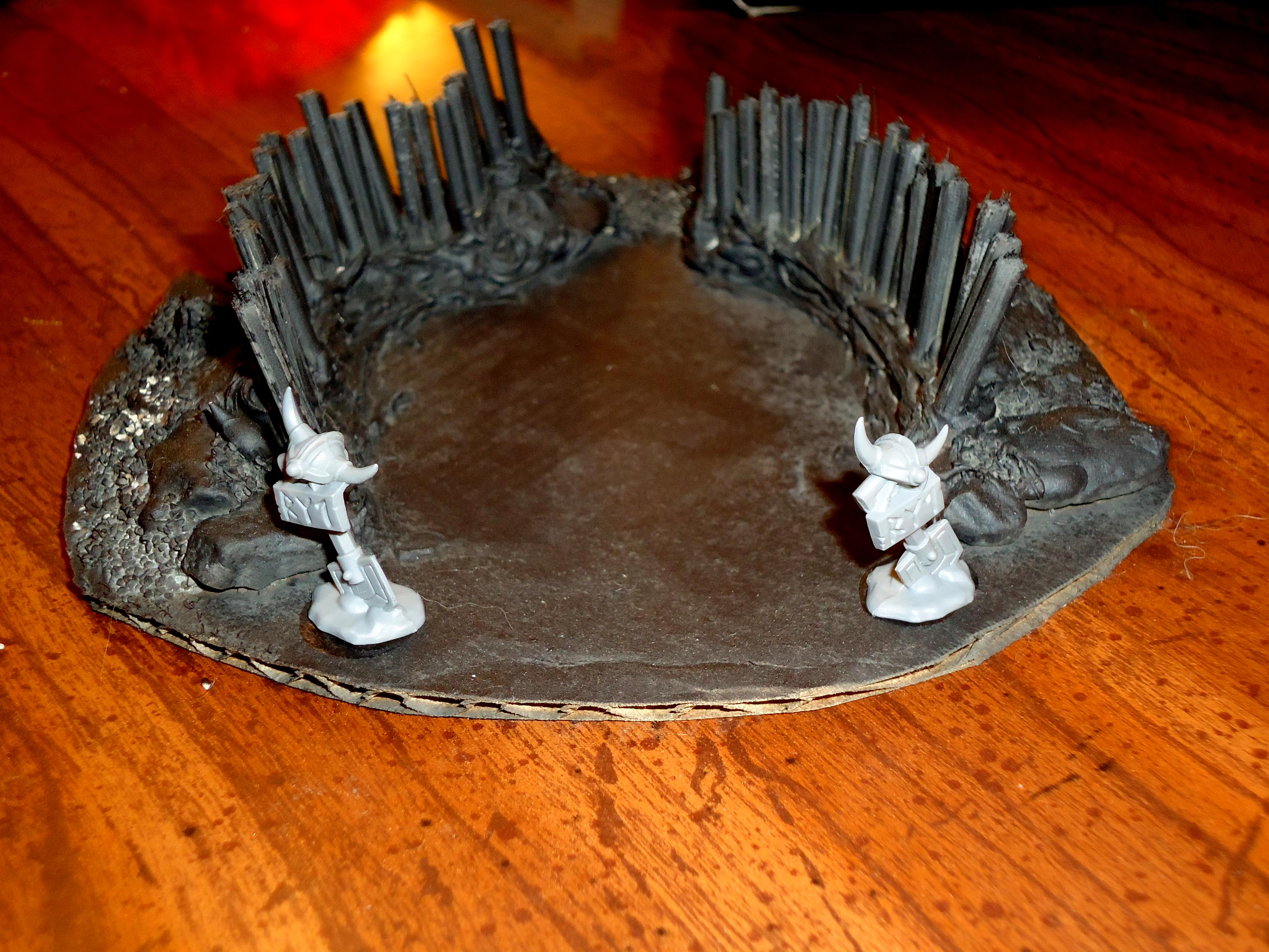 Dwarves, Entrenchment
