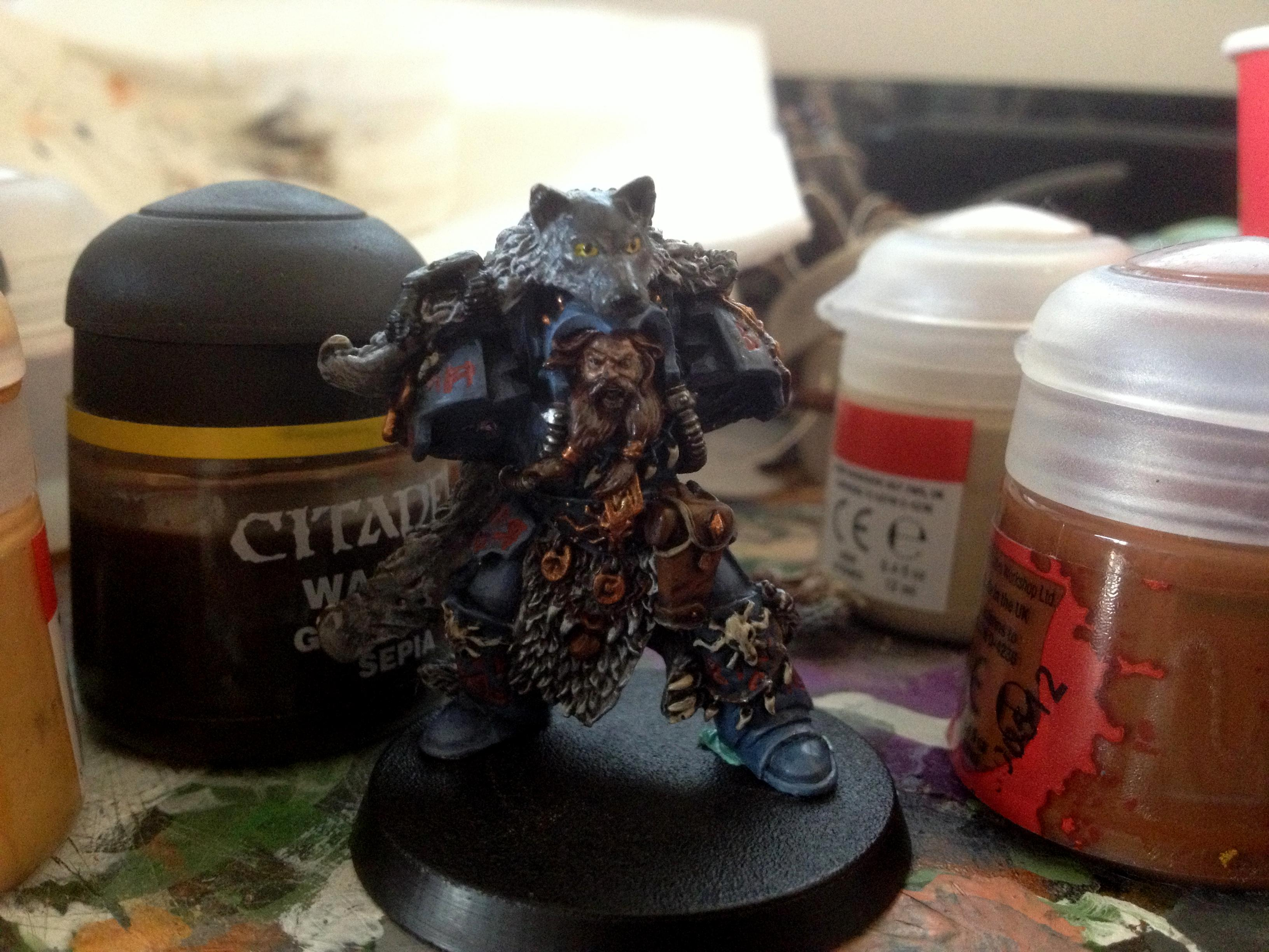 Njal, Njal Stormcaller, Space Marines, Space Wolfs, Space Wolves, Terminator Armor, Vip