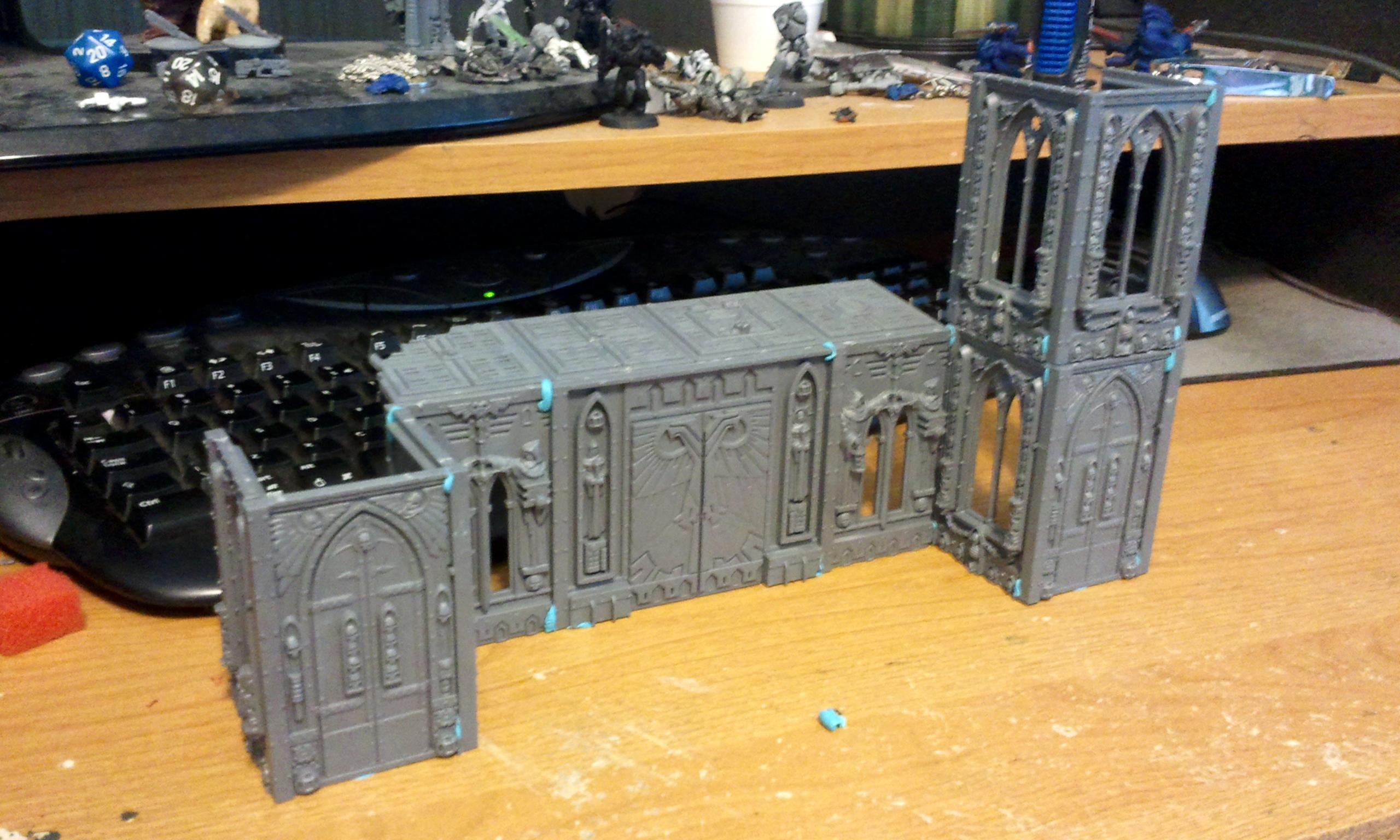 Mockup of Cathedral Front