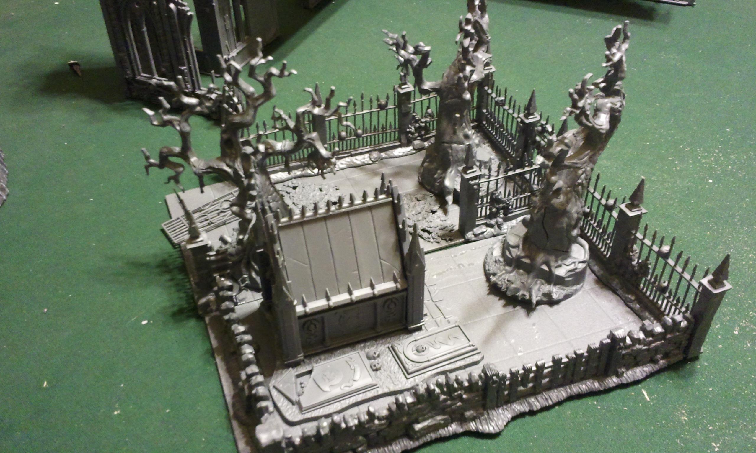 Graveyard side