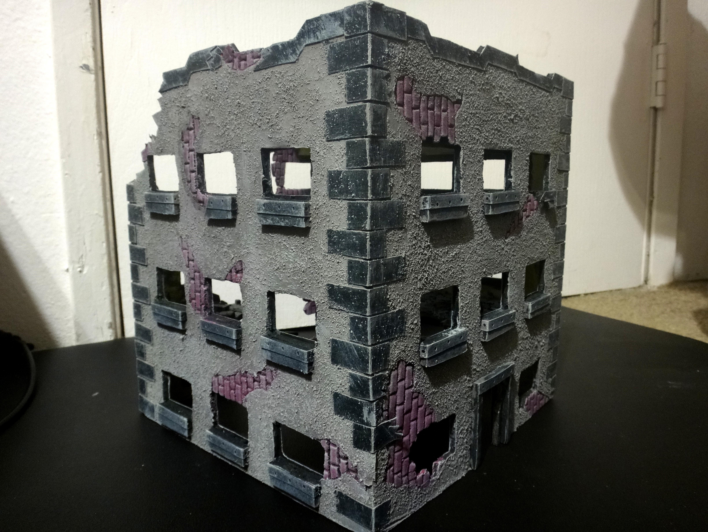 Buildings, Cities Of Death, Planet Strike, Ruins, Scratch Build, Terrain