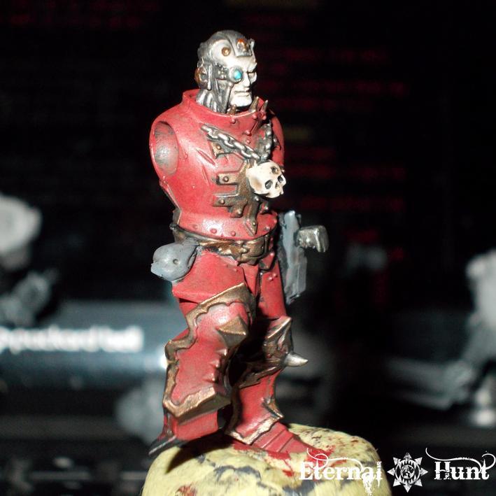 Chaos, Chaos Lord, Chaos Space Marines, Conversion, Huntmaster, Khorne, Khorne's Eternal Hunt, Kitbash, Pip, Tech Marine, Warhammer 40,000, Warpsmith, Work In Progress, World Eaters