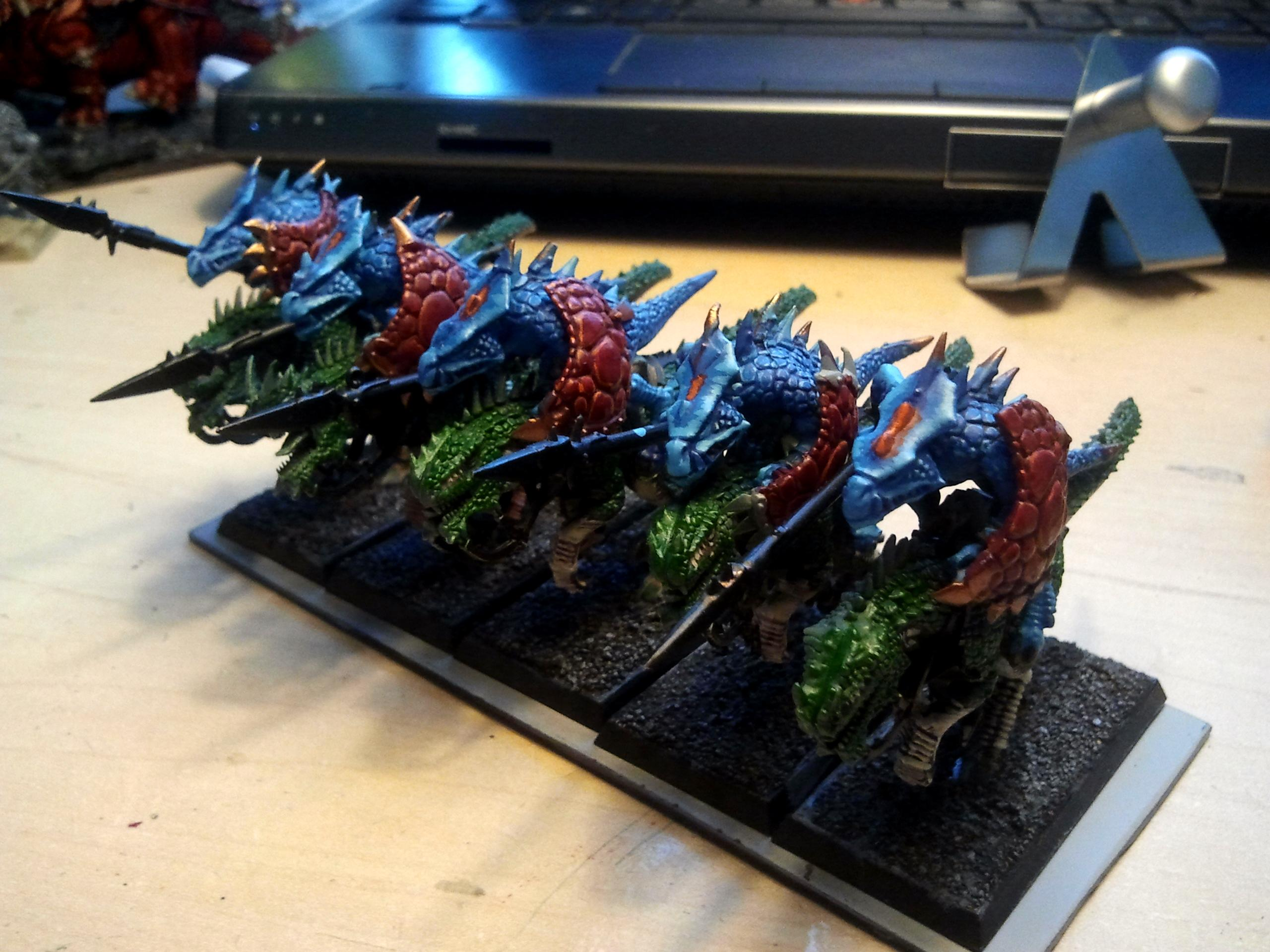 Cold Ones, Conversion, Lizardmen, Stegadon