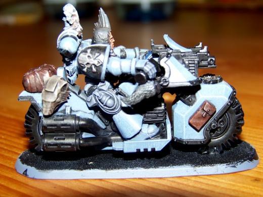 Bike, Space Wolves, Terminator Armor