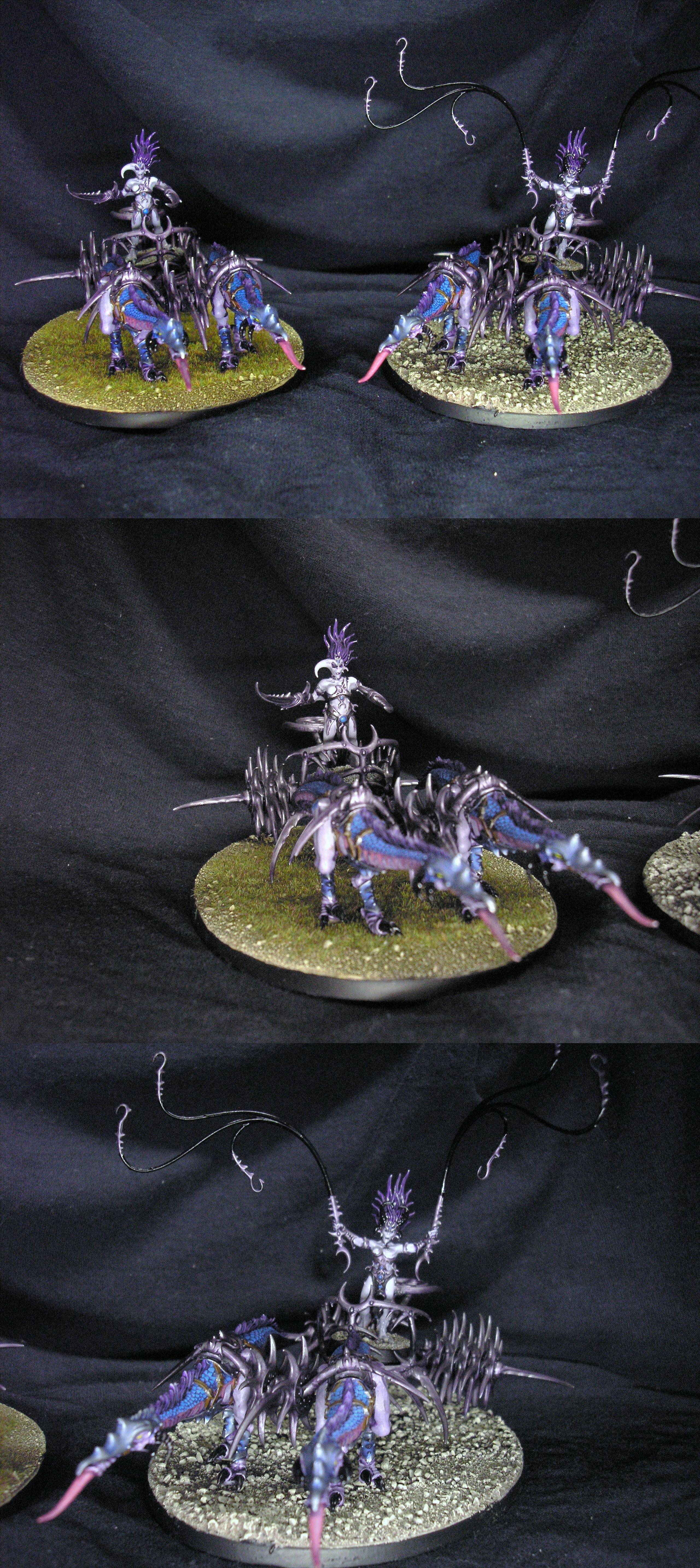 Daemons, Seeker Chariot, Slaanesh