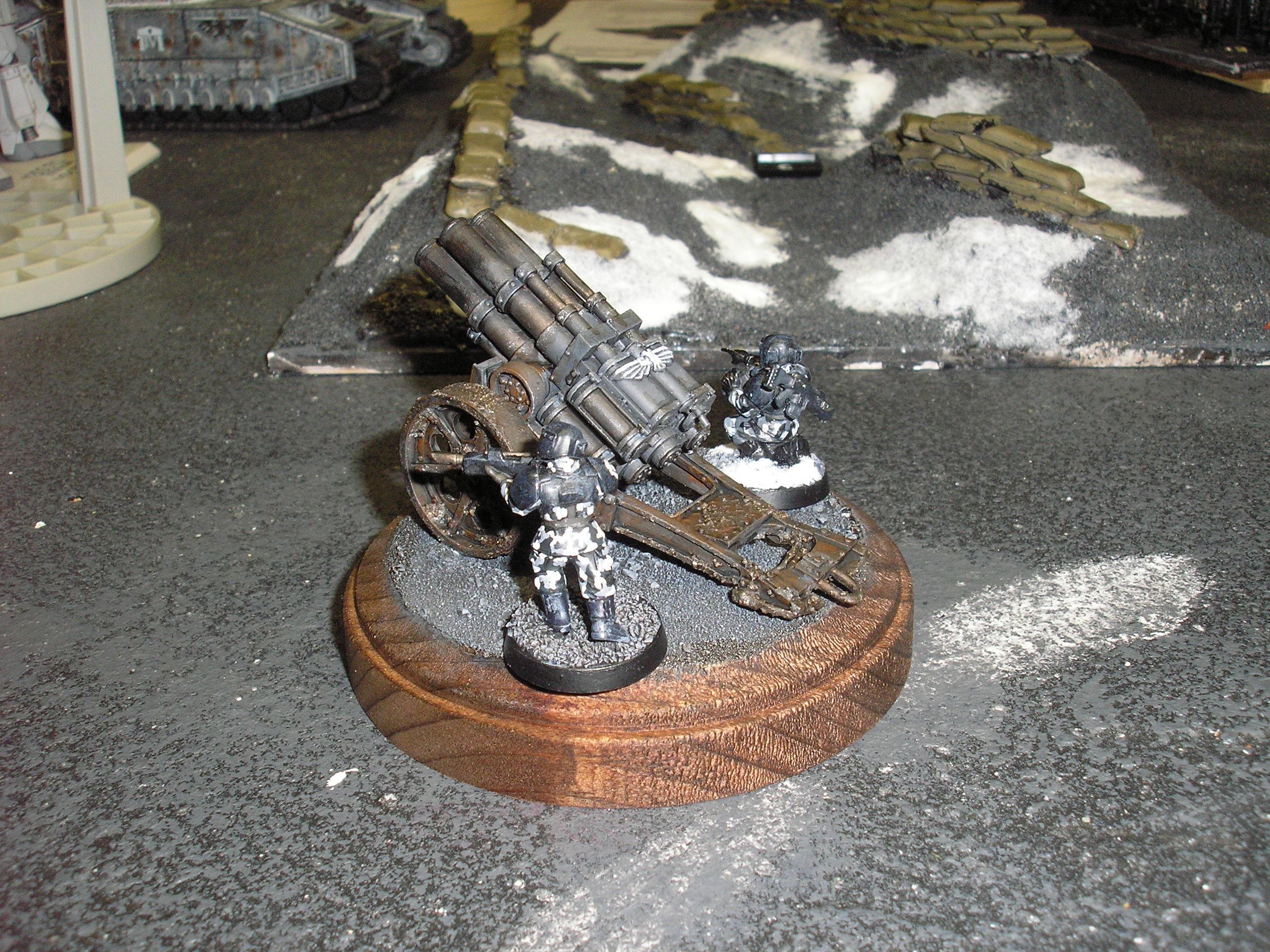 Imperial Guard, Quad Launcher, Thudd Gun