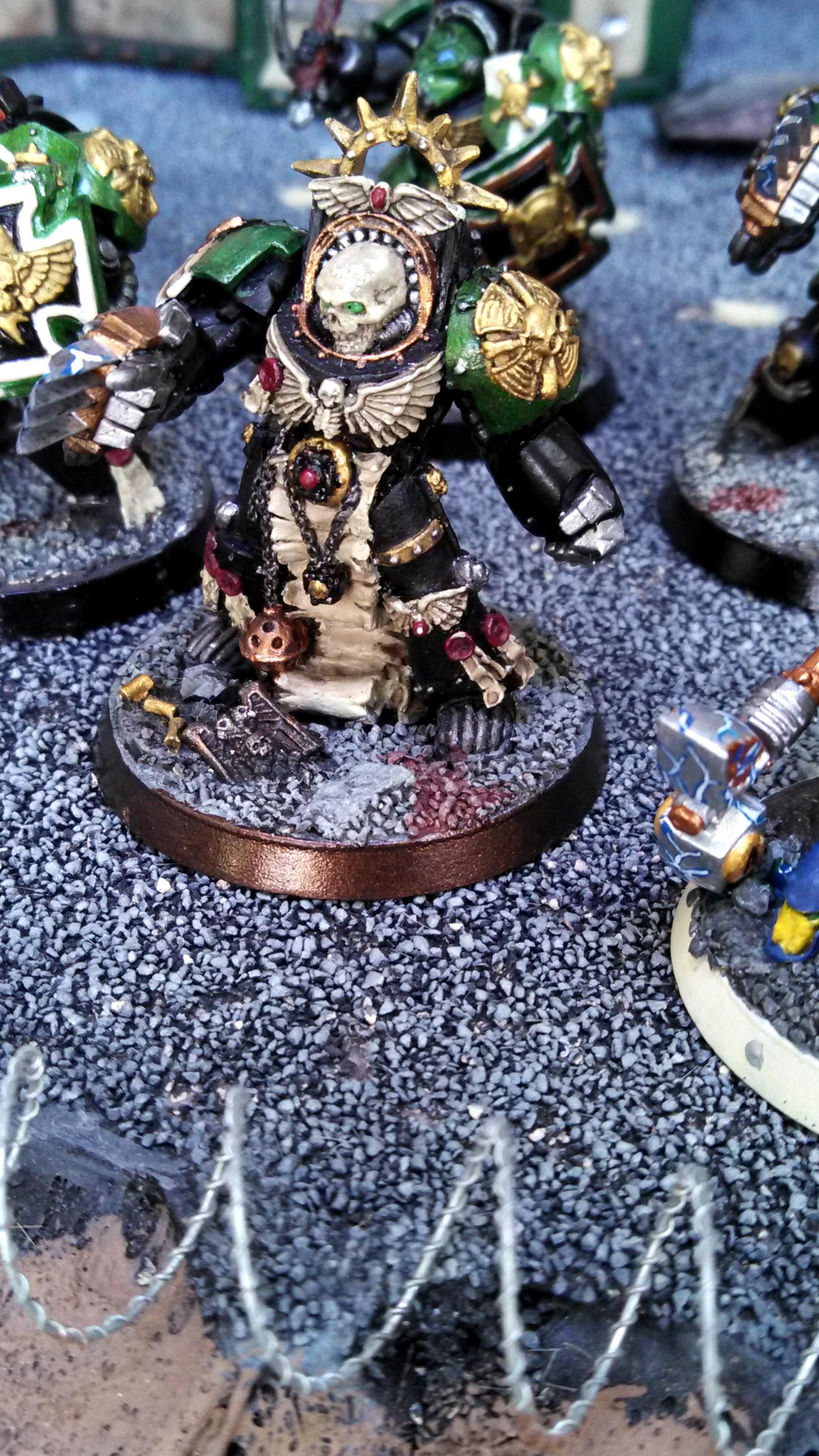 Aegis Line, Black Templars, Display Board, Dreadnought, Drop Pod, Honoured Imperium, Ironclad, Scout Squad, Space Marines, Tactical Squad, Terminator Armor
