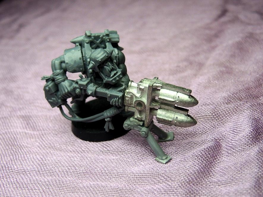 Bad Moons, Deathskulls, Deff, Deff Dread, Dreadnought, Dred, Orks, Scratch Build