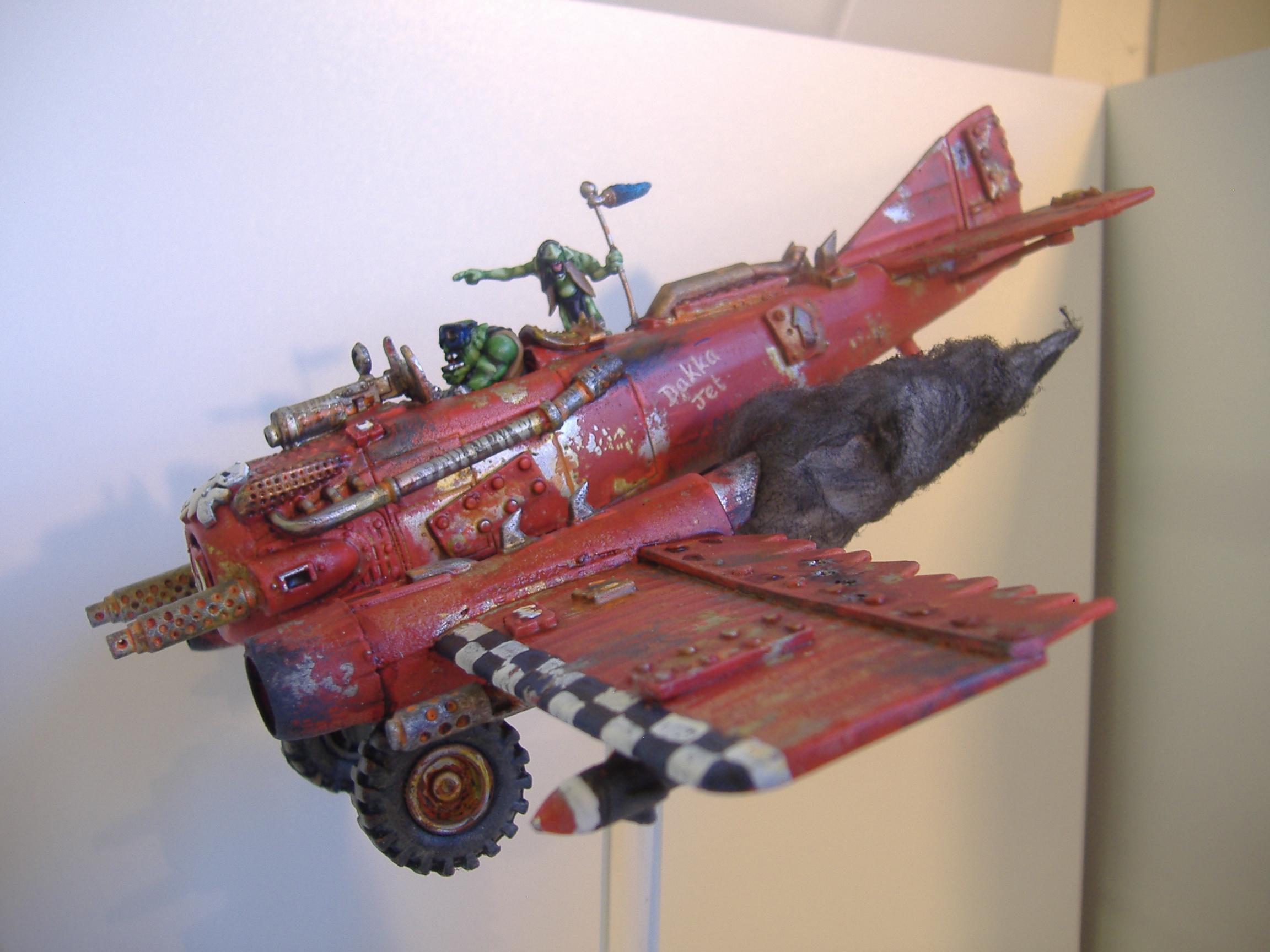 Scratch built Dakka Jet