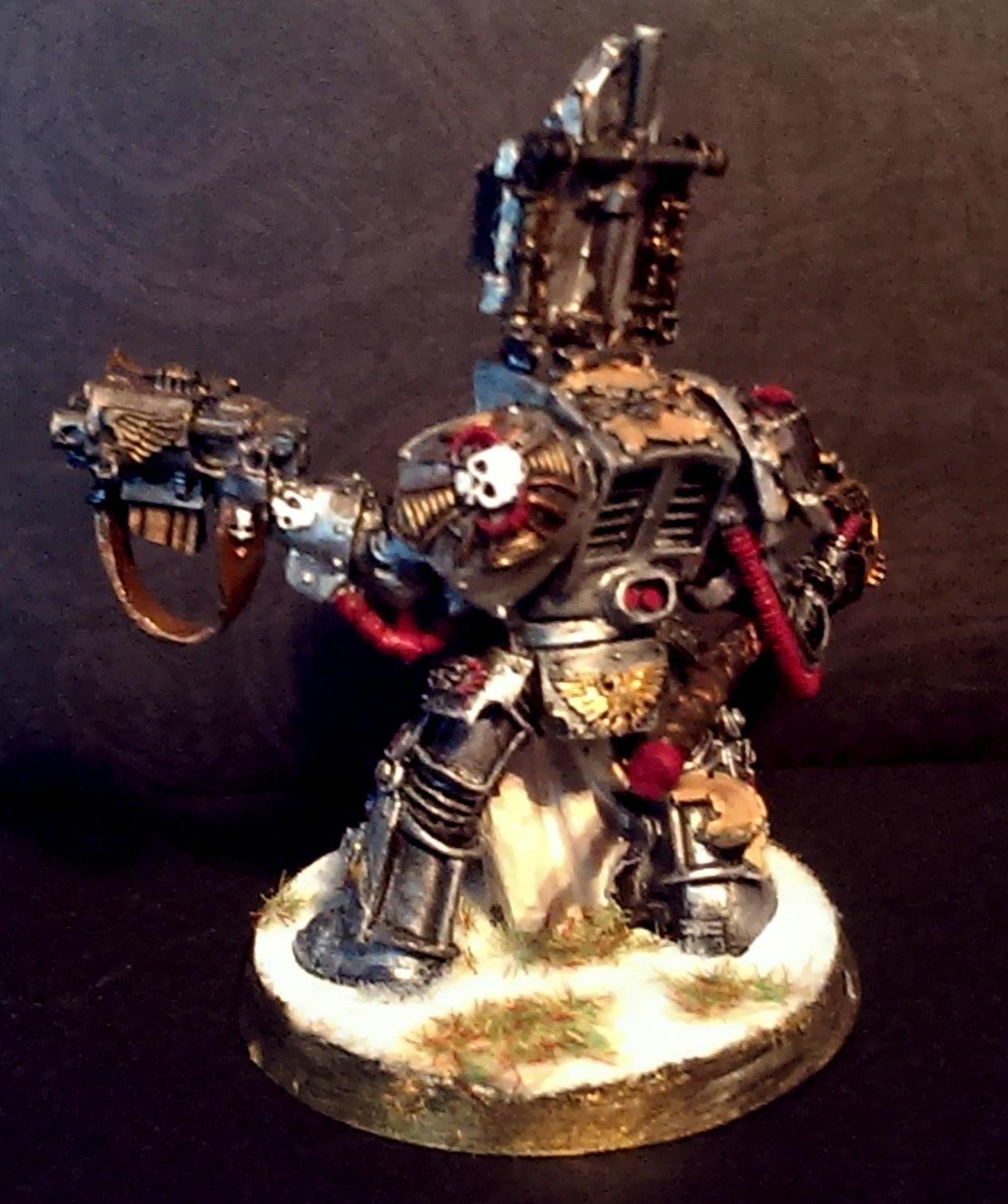 Grey Knights, Greyknight, Librarian, Terminator Armor