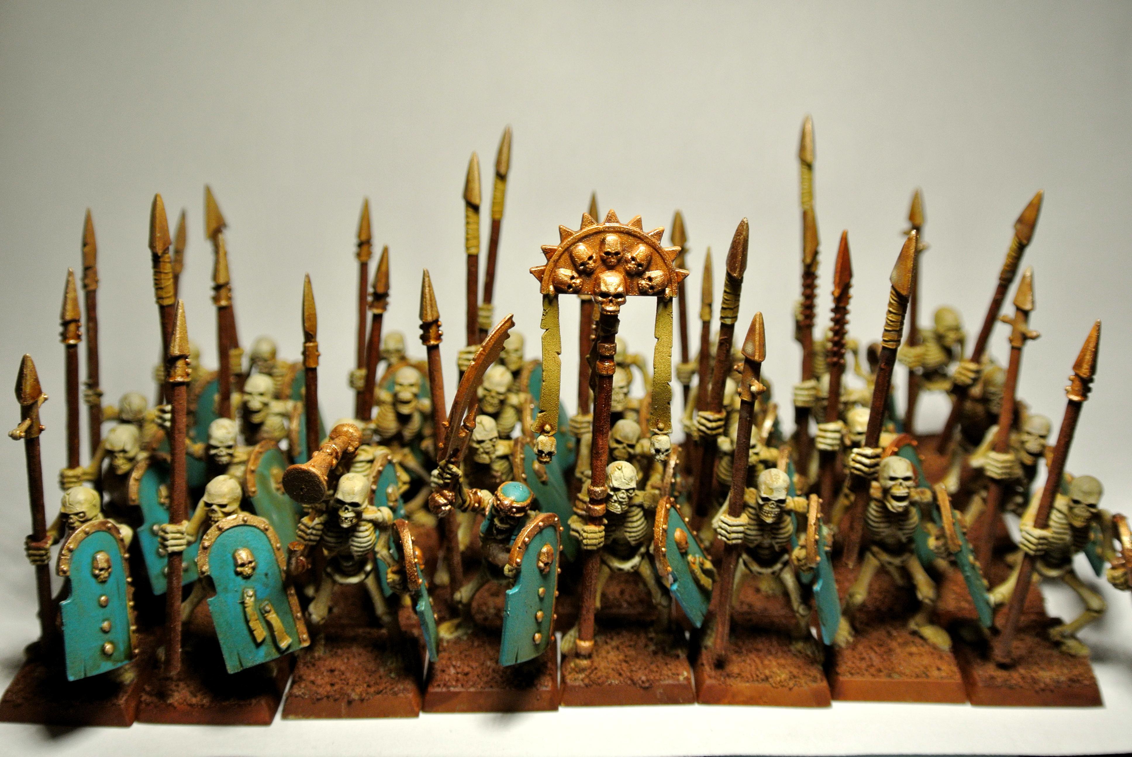 King, Kings, Shields, Skeletons, Spears, Tomb, Warriors