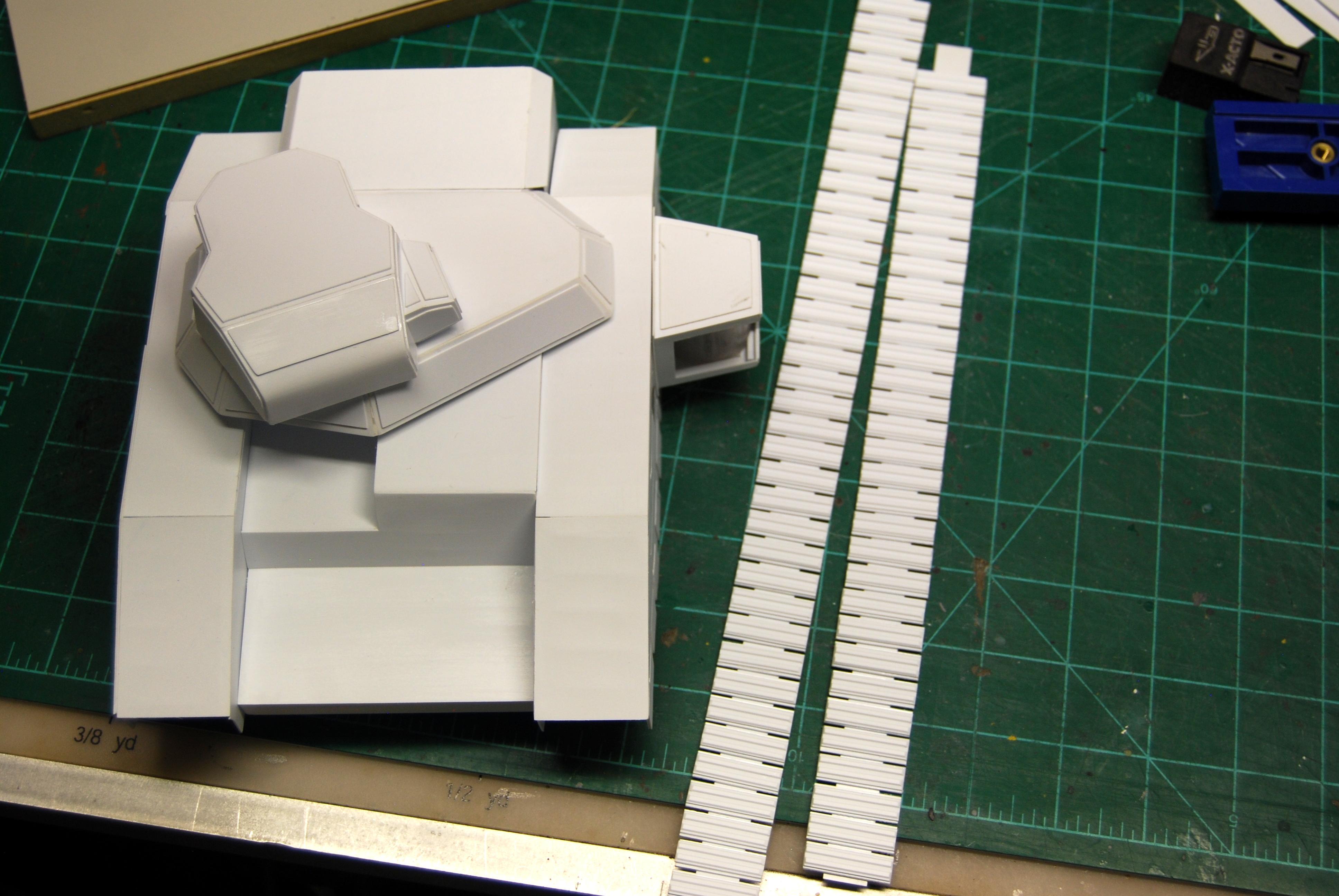 Baneblade, Built, Imperial, Scratch, Scratch Build, Tank