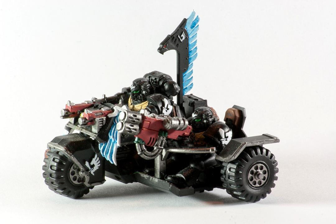 Ravenwing Attack Bike