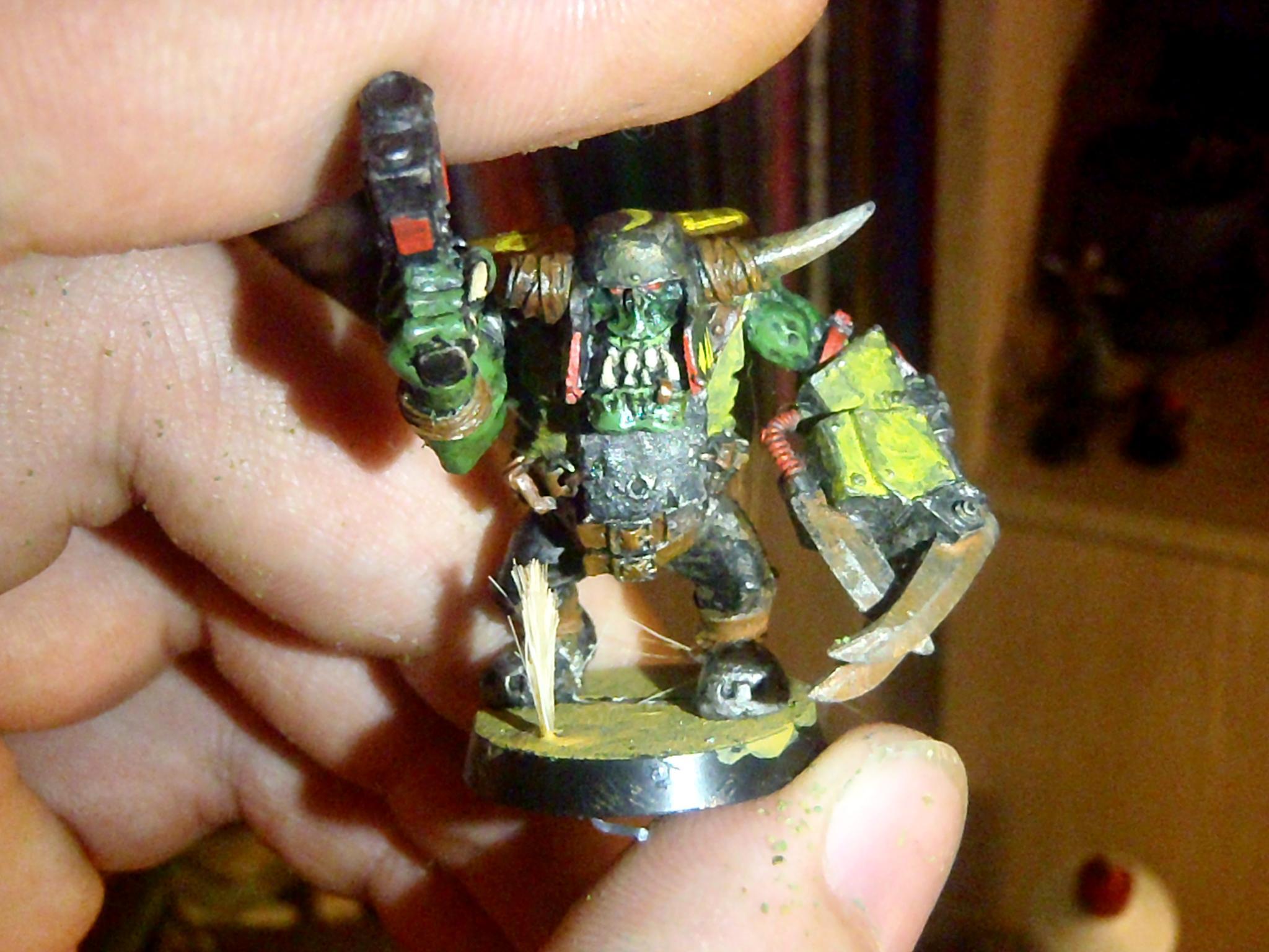 Nob, Orks, Powerclaw, Warhammer 40,000