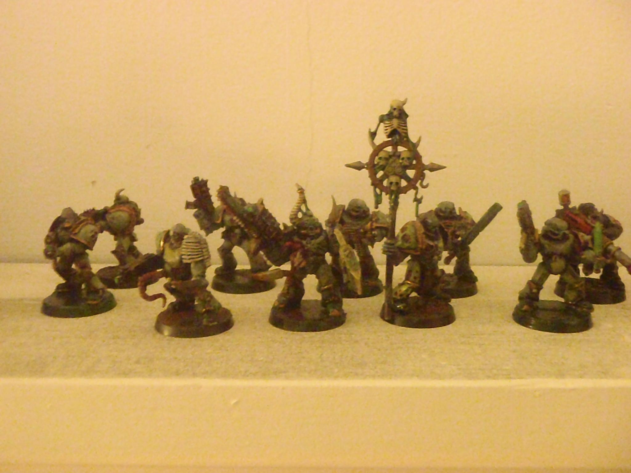 Chaos, Chaos Spacemarines, Nurgle, Plague Marines