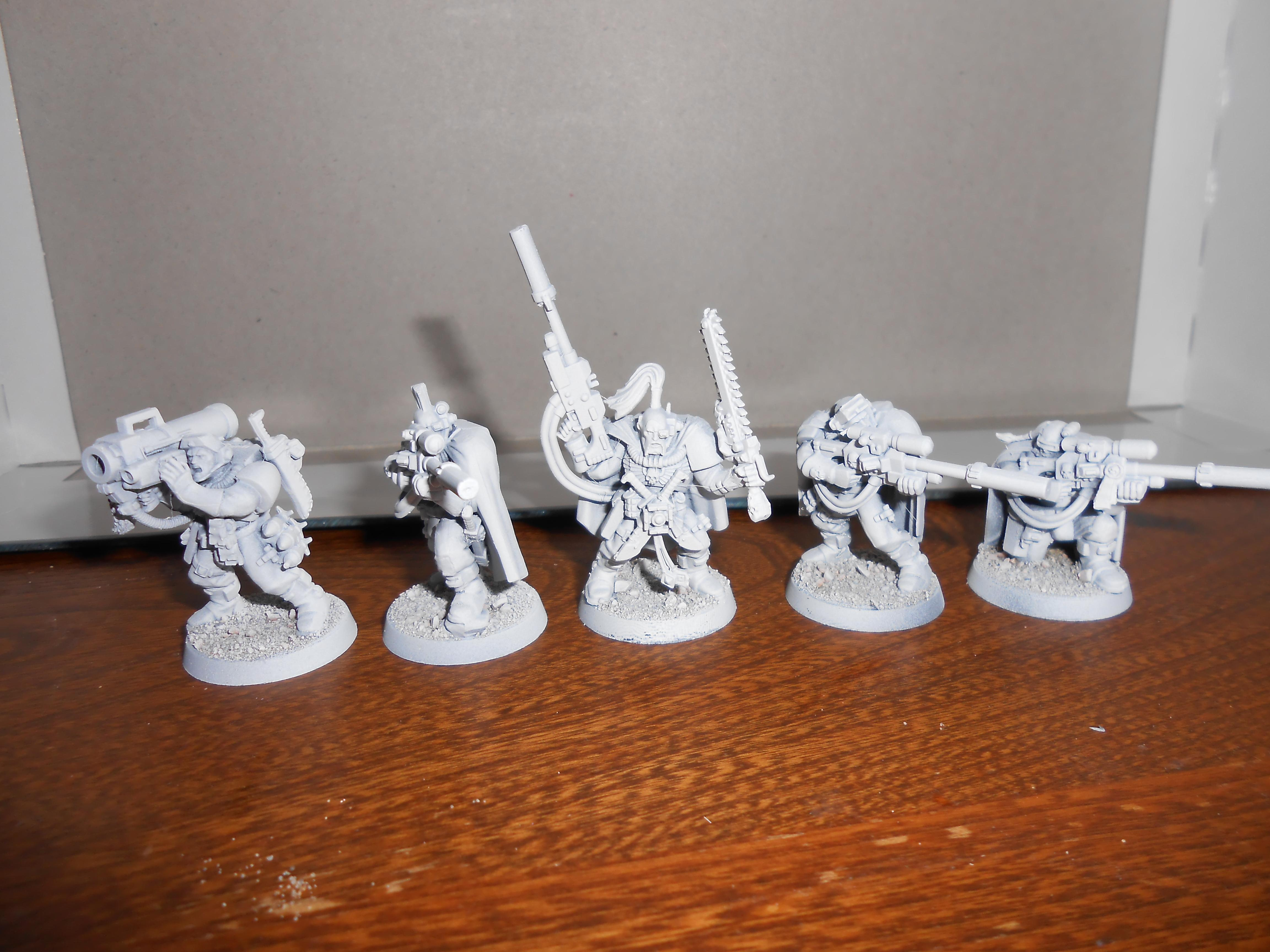 Scouts, Space Marines, White Scars
