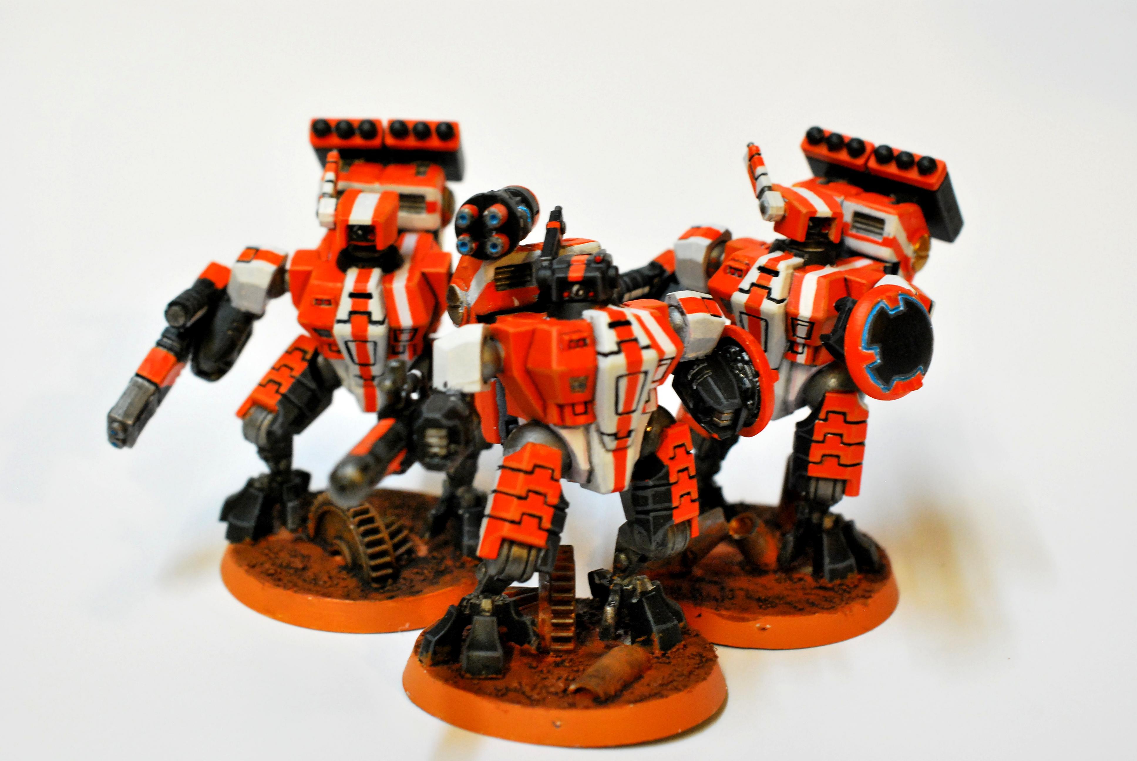 Battle Suits, Crisis Team, Tau