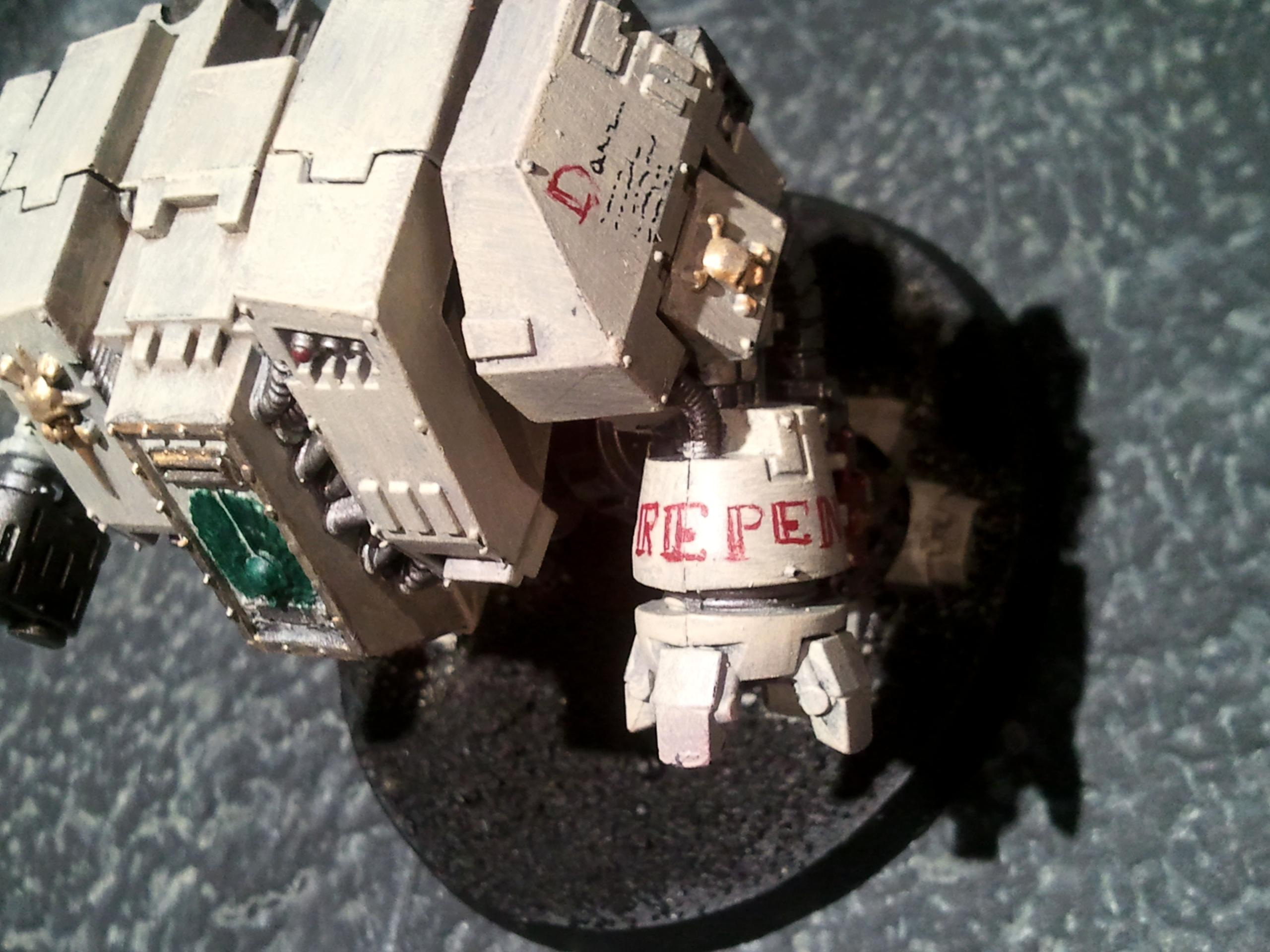 Dreadnought, Freehand, Space Marines, Warhammer 40,000