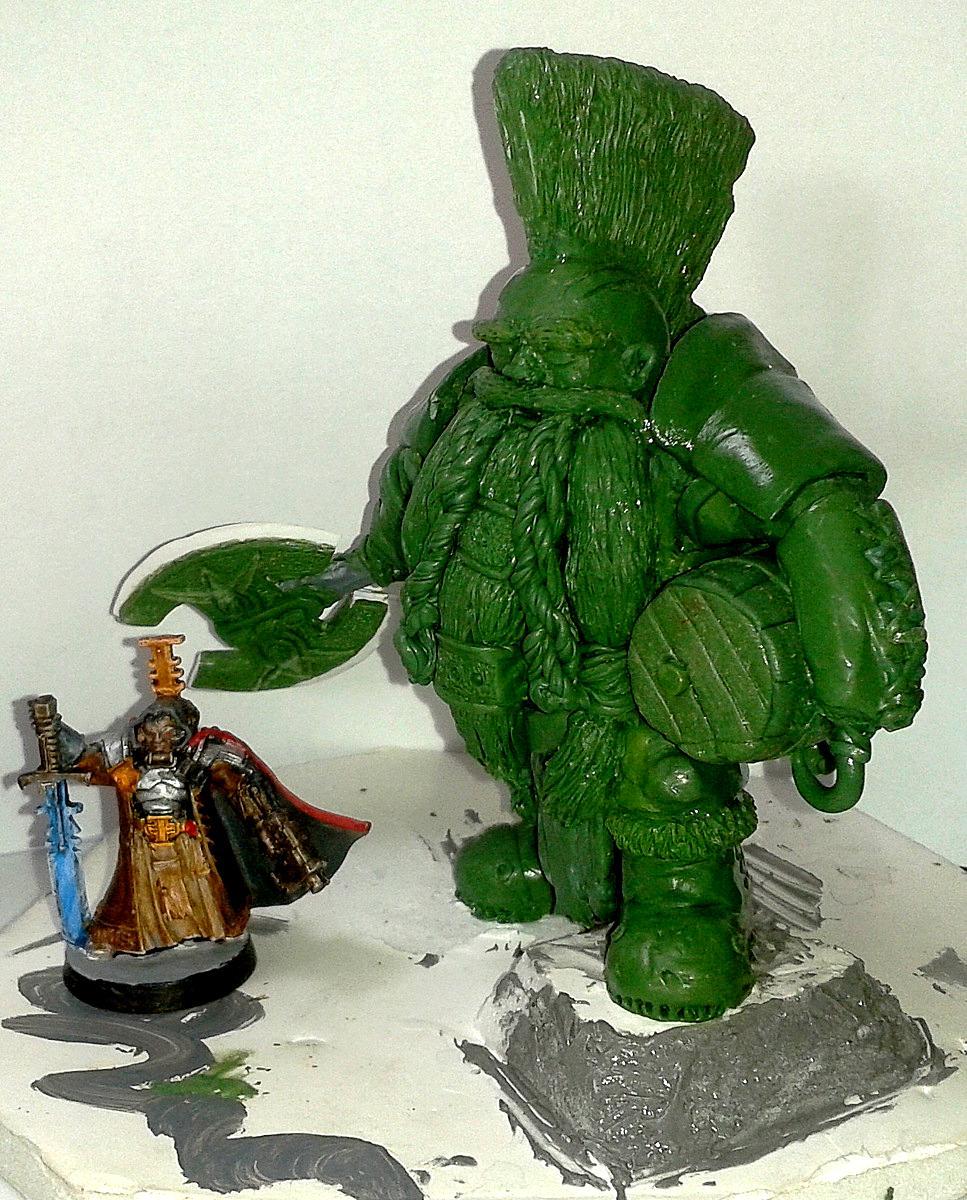 Dwarves, Green, Sculpted, Slayer, Stuff