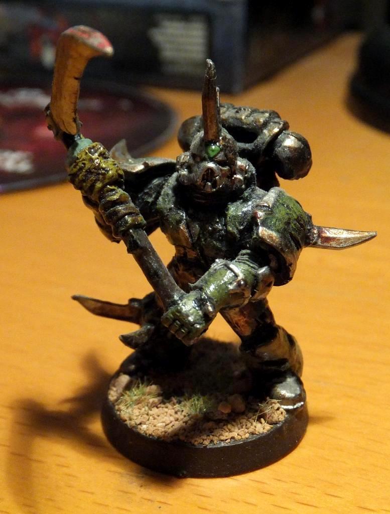 Aspiring Champion, Nurgle, Plague Marines