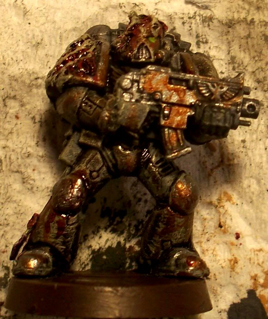 Chaos Space Marines, Evisceration Wraiths, Plague Marines