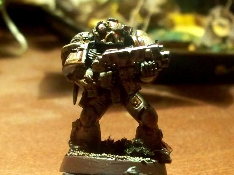 Chaos Space Marines, Evisceration Wraiths, Plague Marines