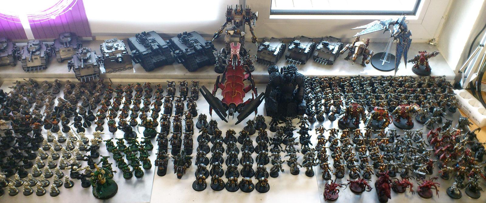 Chaos Space Marines, CSM army snapshot 7-29