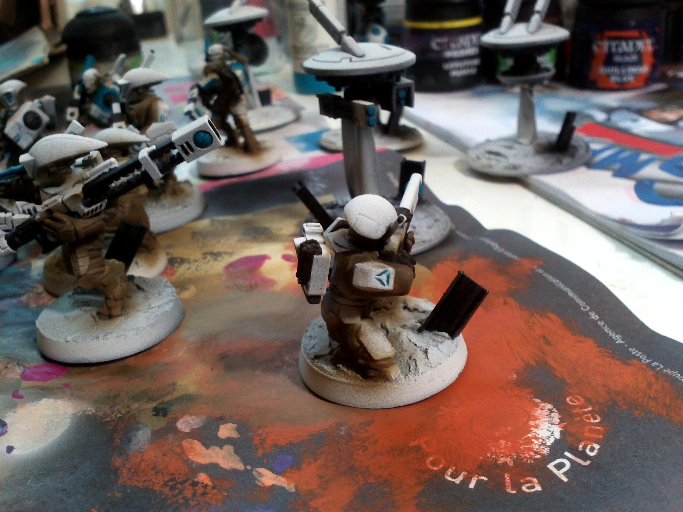 Tau, Warhammer 40,000, Work In Progress