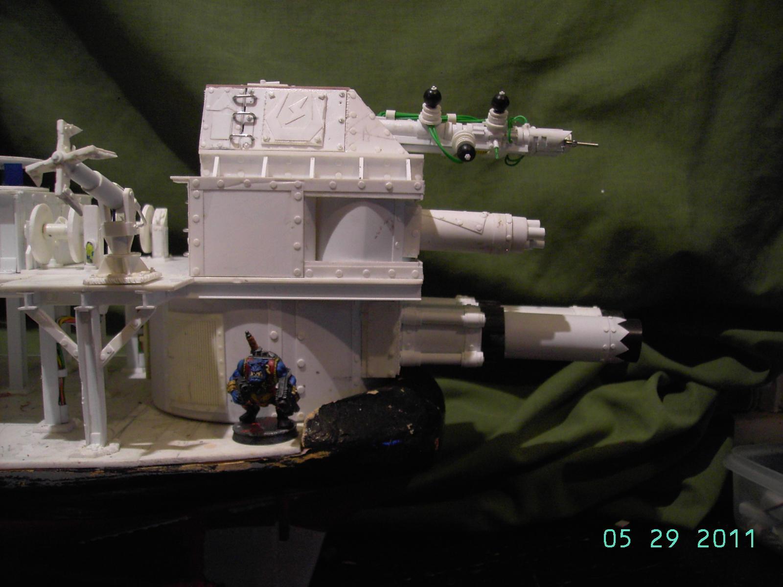 Battleship, Broadsides, Cradle, Deathroller, Orks, Warship