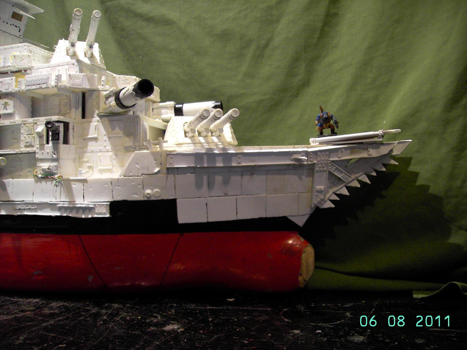 Battleship, Broadsides, Cradle, Deathroller, Orks, Ram, Warship