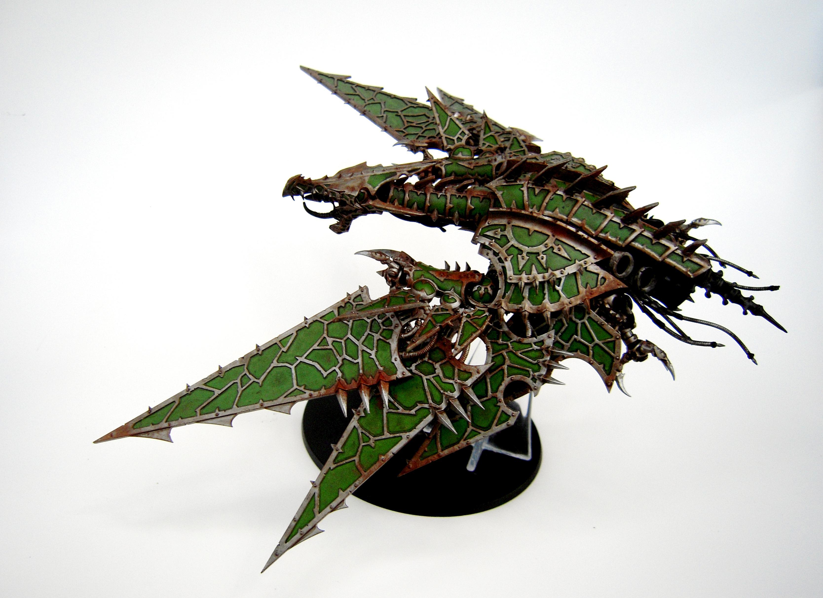 Chaos Space Marines, Helldrake, Nurgle, Warhammer 40,000