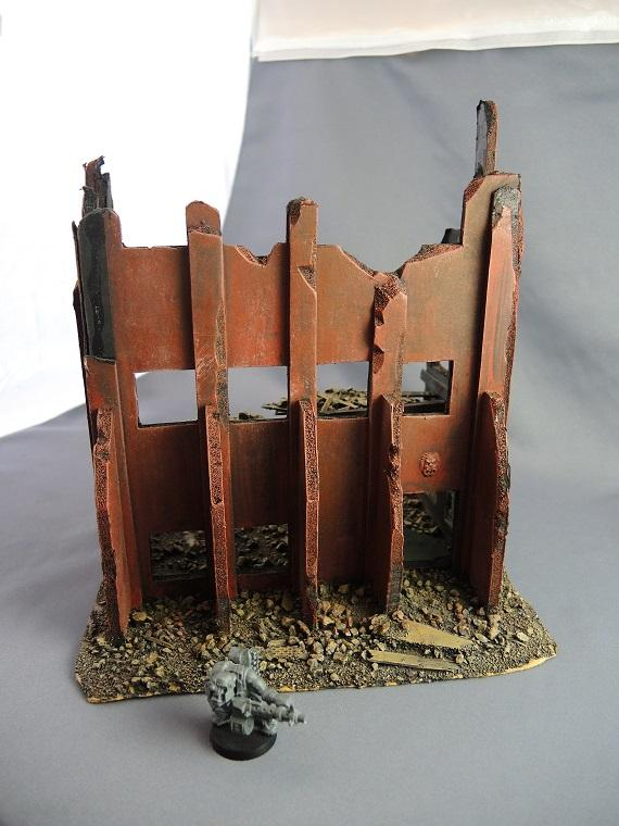 Cities Of Death, Scratch Build, Shattered, Terrain