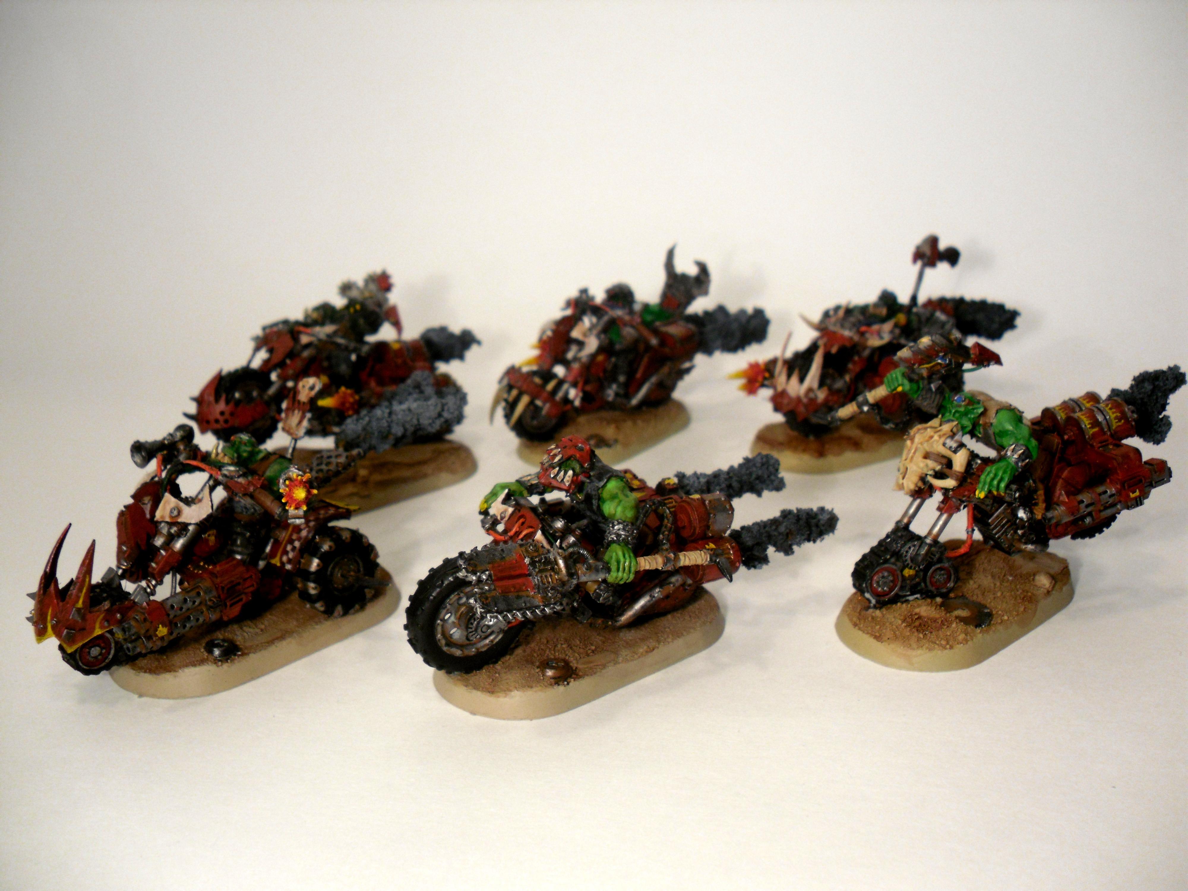 Bike, Nob, Nob Bikers, Ork Nobz, Orks