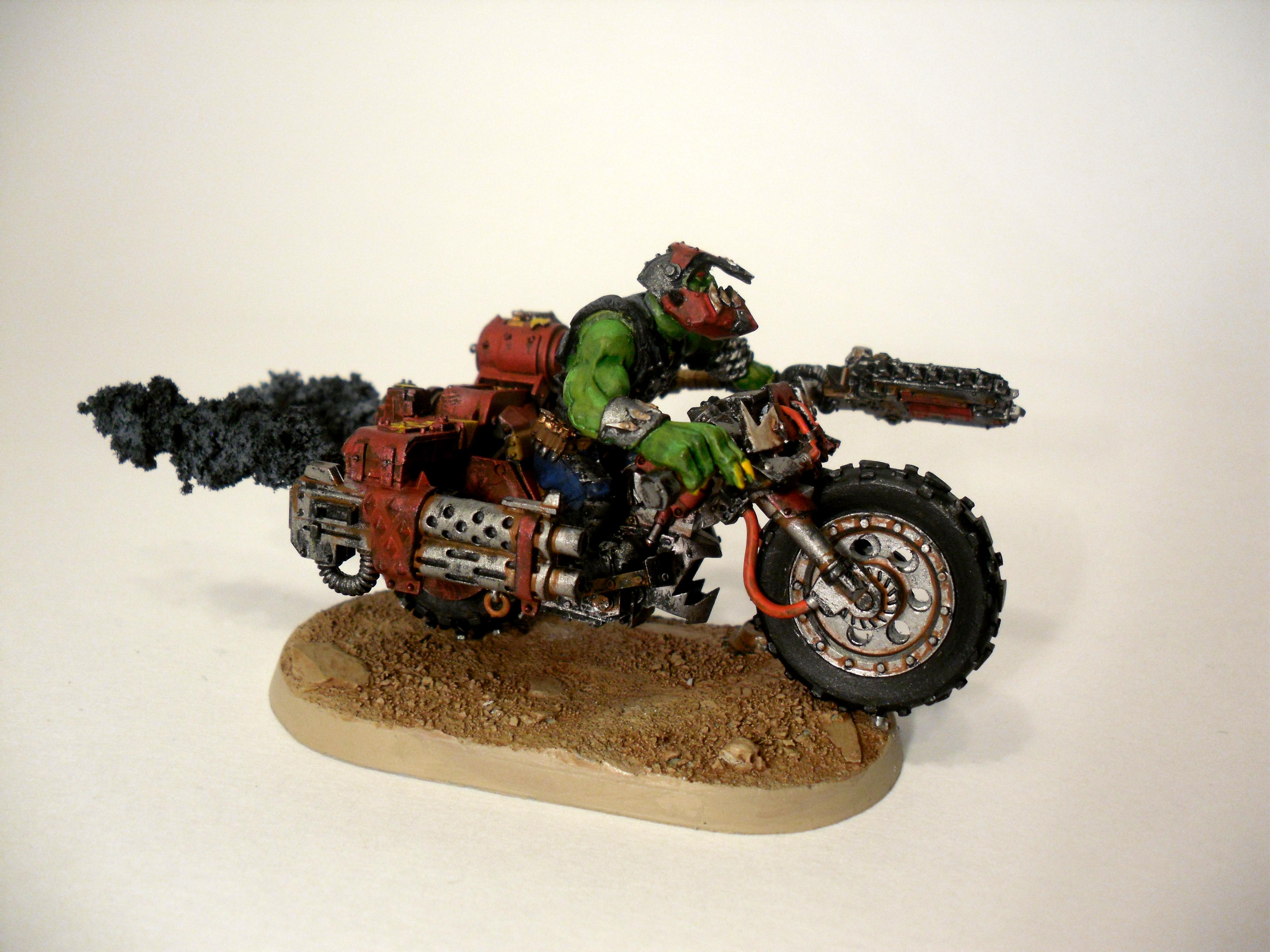 Bike, Nob, Nob Bikers, Ork Nobz, Orks
