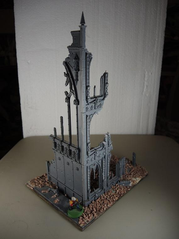 Administratum, Cities Of Death, Outbuilding, Ruins, Terrain, Urban