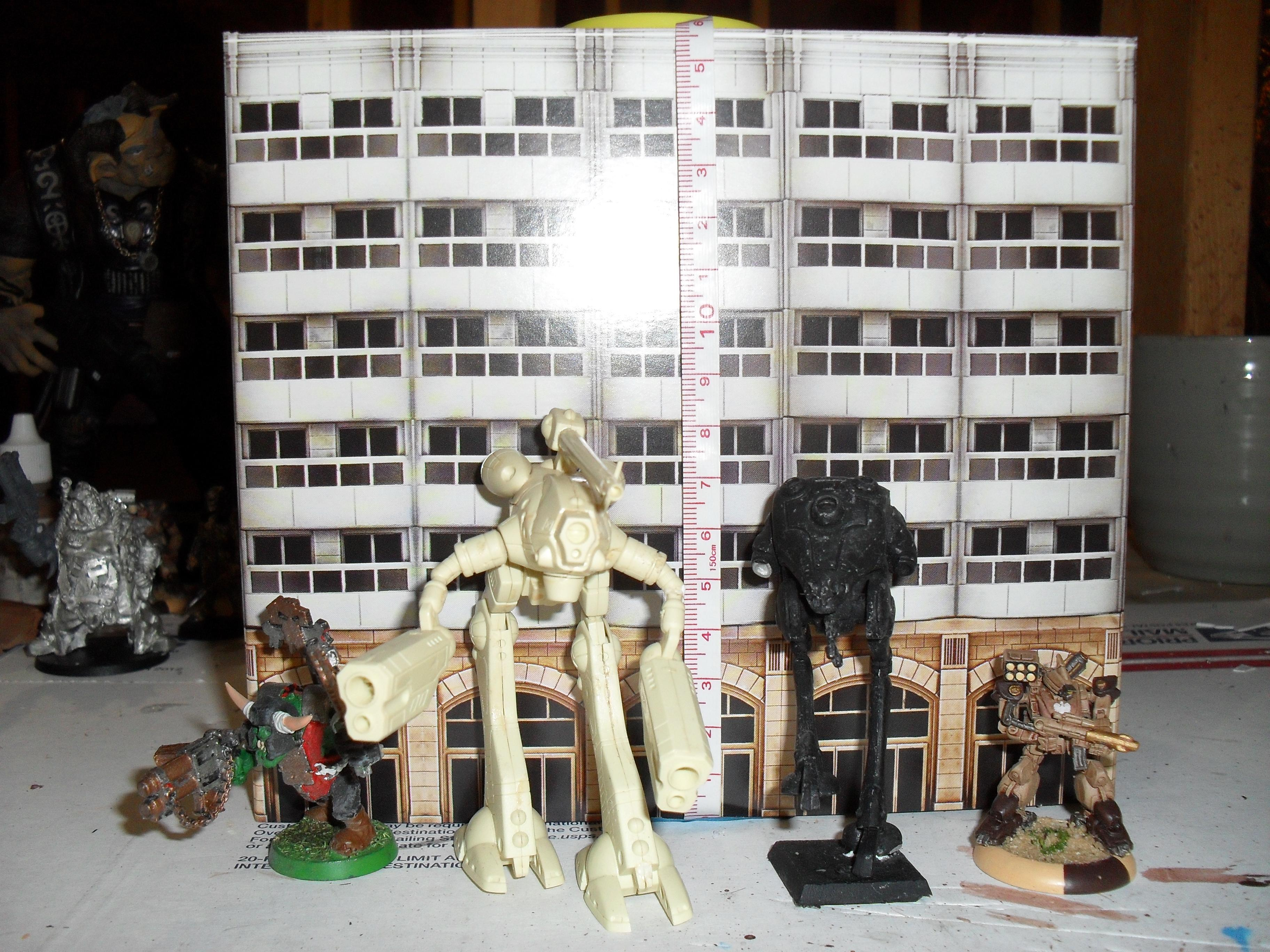 Cityscape, Heavy Gear, Robotech