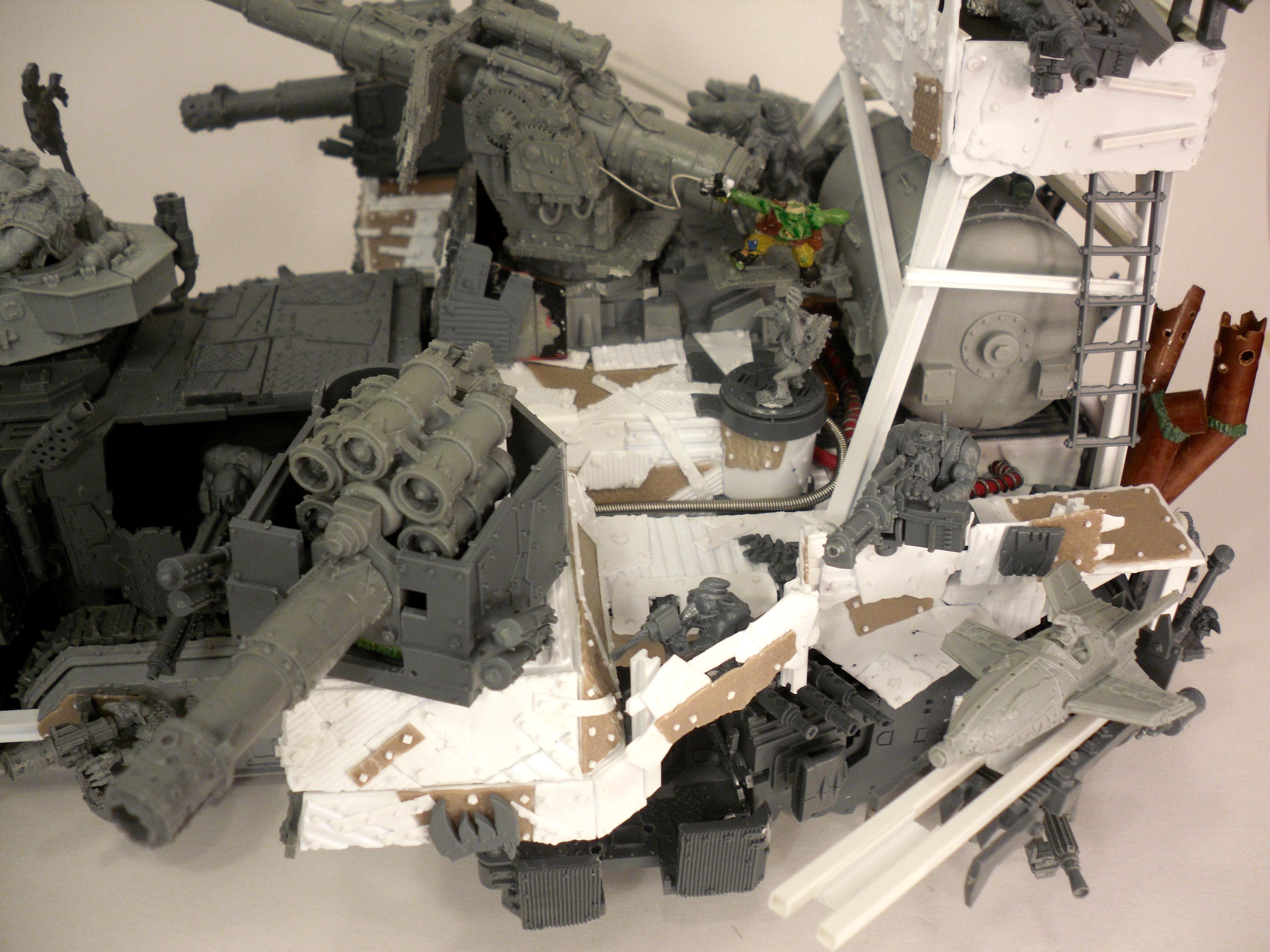 Battle Fortress, Battlewagon, Custom, Orks, Super-heavy