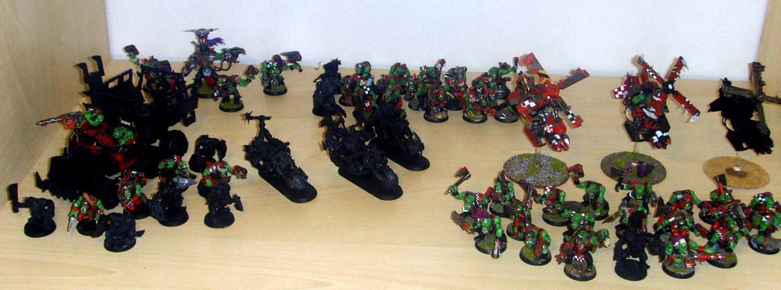 Ork Army so far
