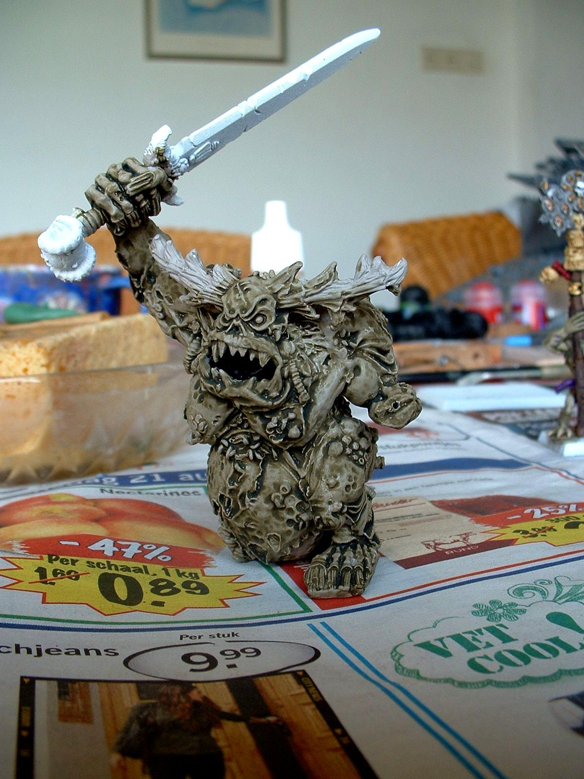 Chaos, Daemons, Great Unclean One, Greater Daemon, Guo, Nurgle, Work In Progress