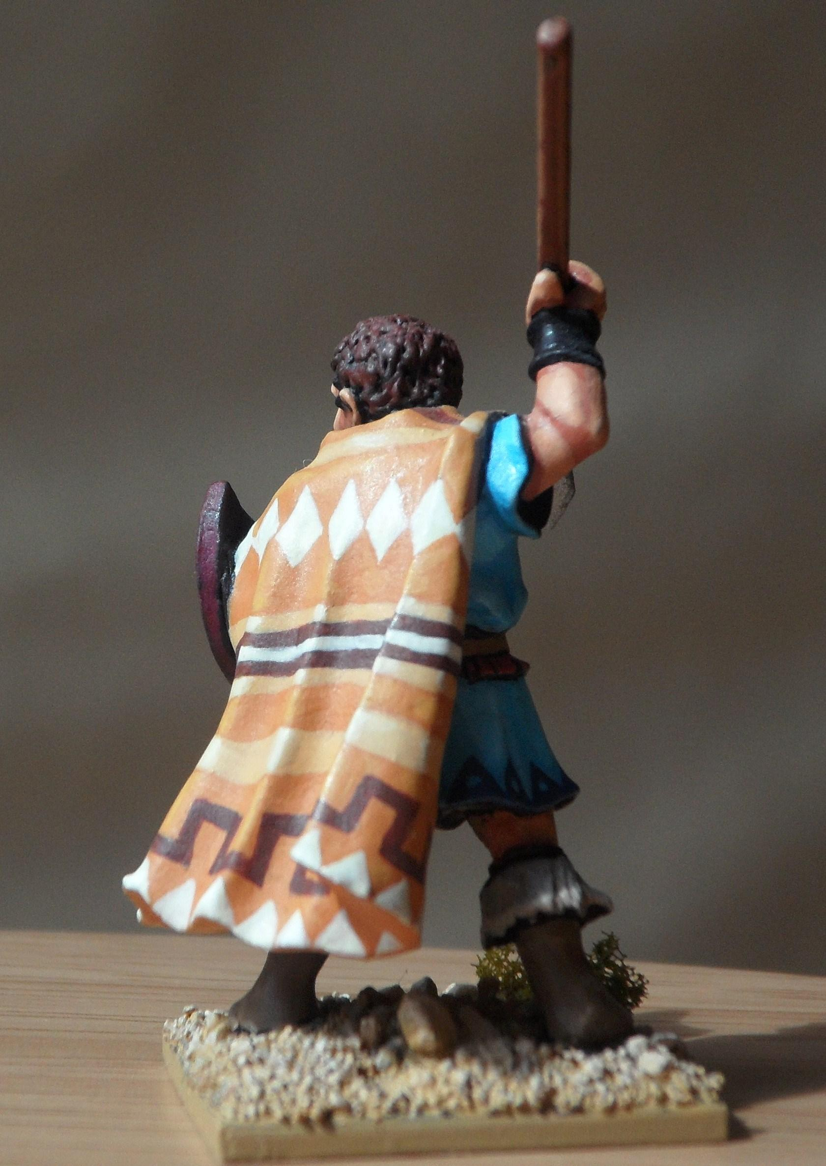 Cloak, Foundry, Greek, Historical, Javelin, Javelinman, Pattern, Pelta, Peltast, Thracian